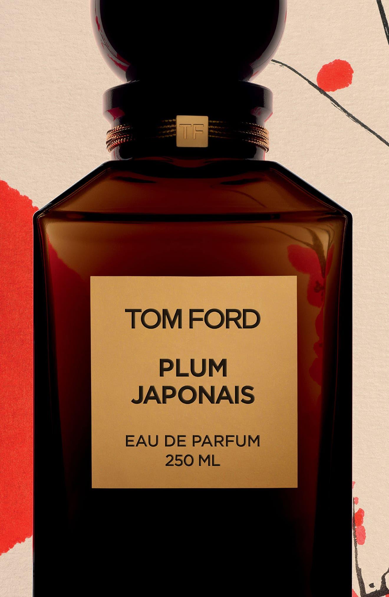 Private Blend Plum Japonais Eau de Parfum Decanter,                             Alternate thumbnail 3, color,                             No Color