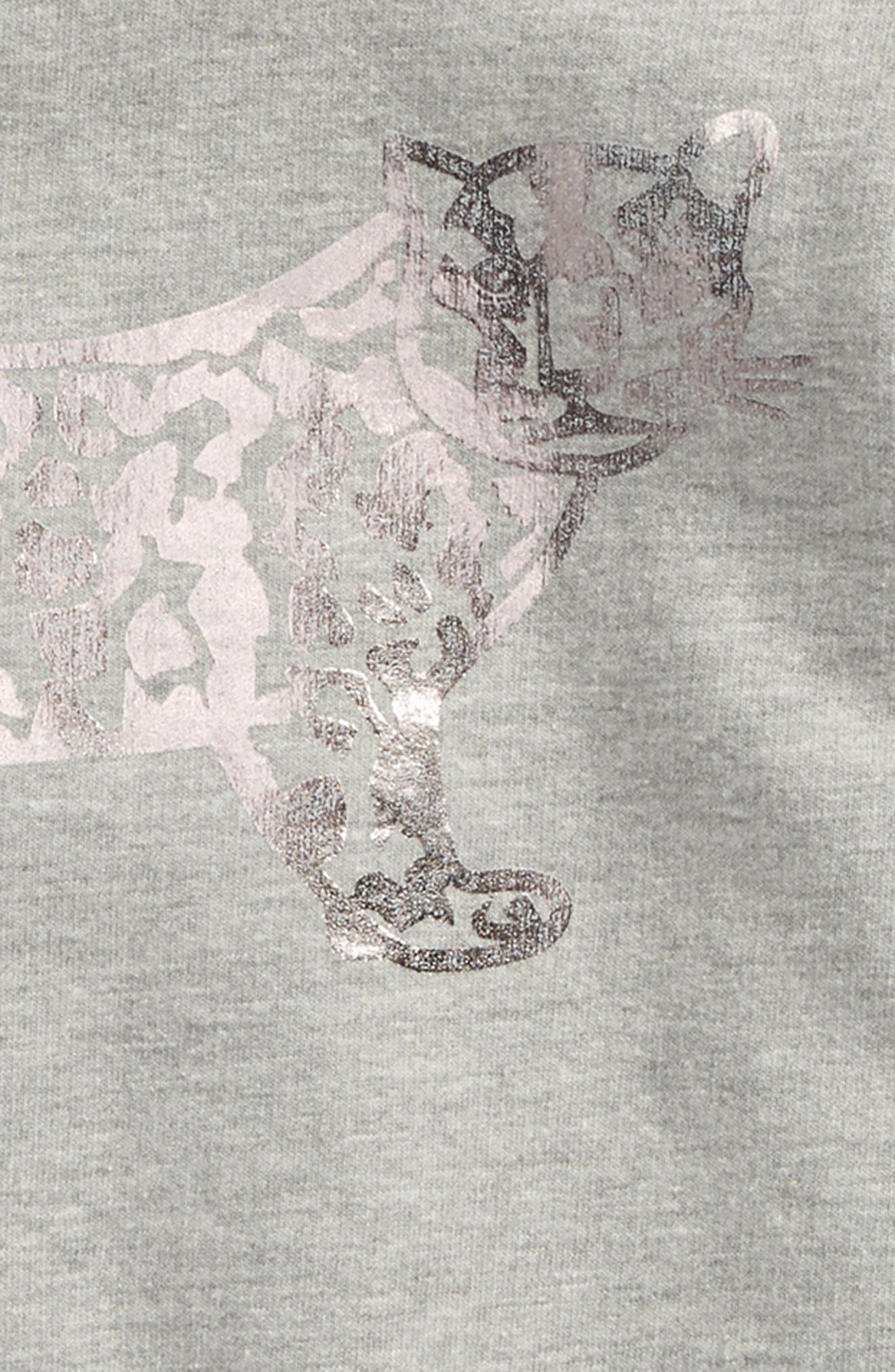 Alternate Image 3  - Beru Luna Hooded Sweatshirt Dress (Toddler Girls & Little Girls)