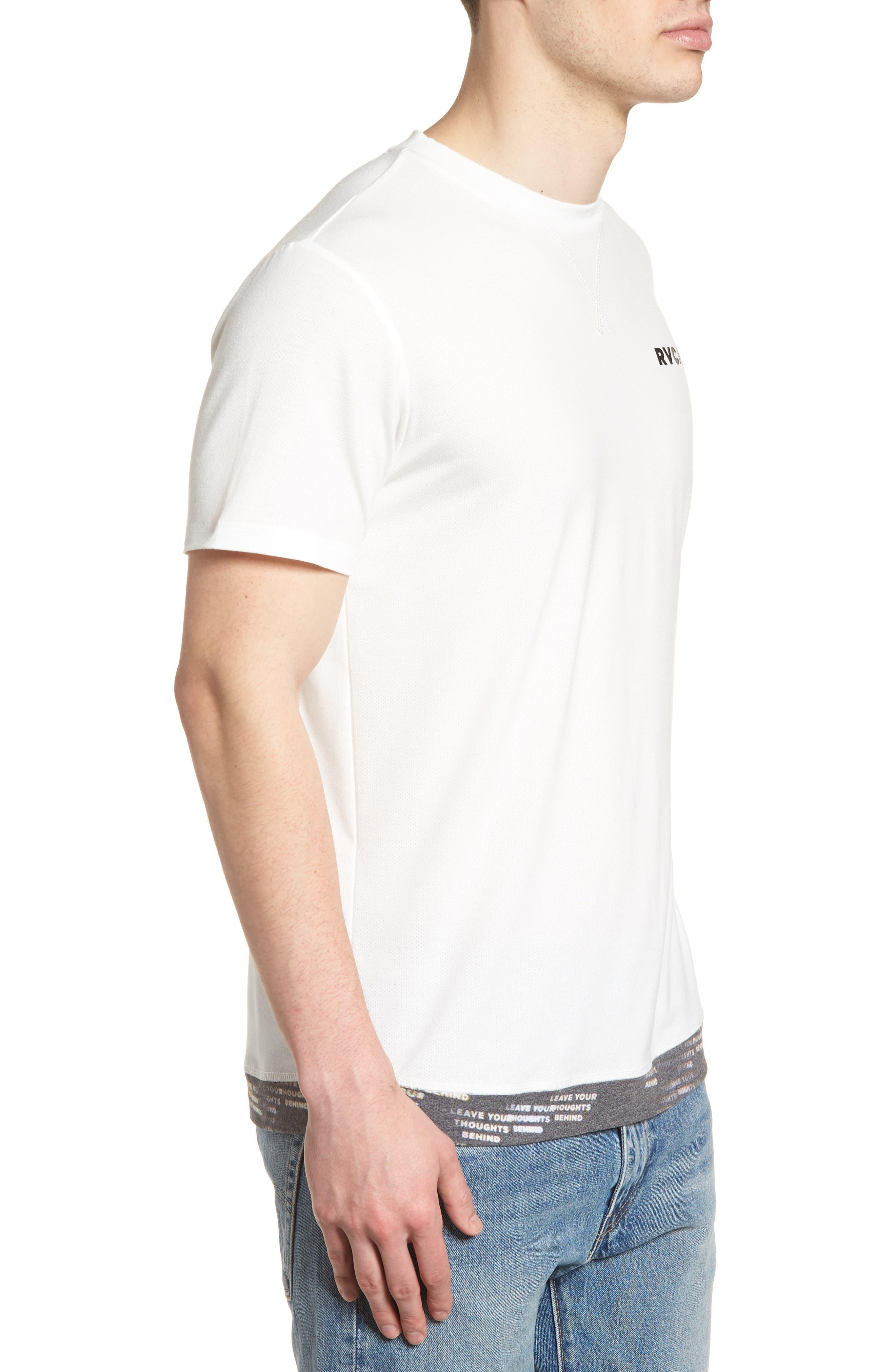 Runner Mesh II T-Shirt,                             Alternate thumbnail 3, color,                             White