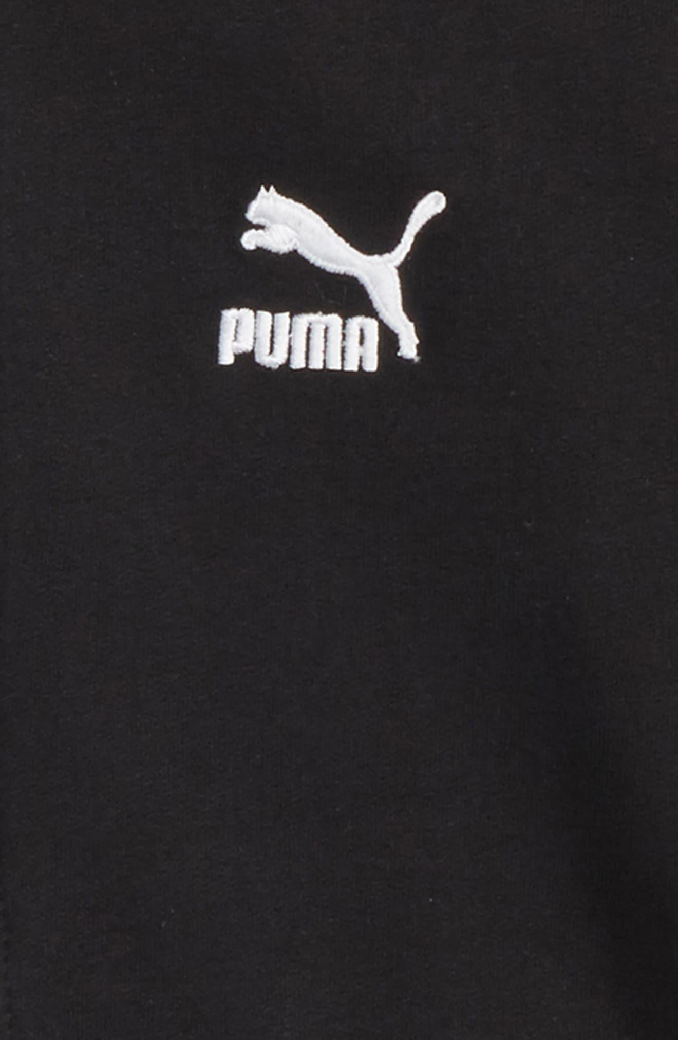 T7 Track Jacket,                             Alternate thumbnail 2, color,                             Puma Black