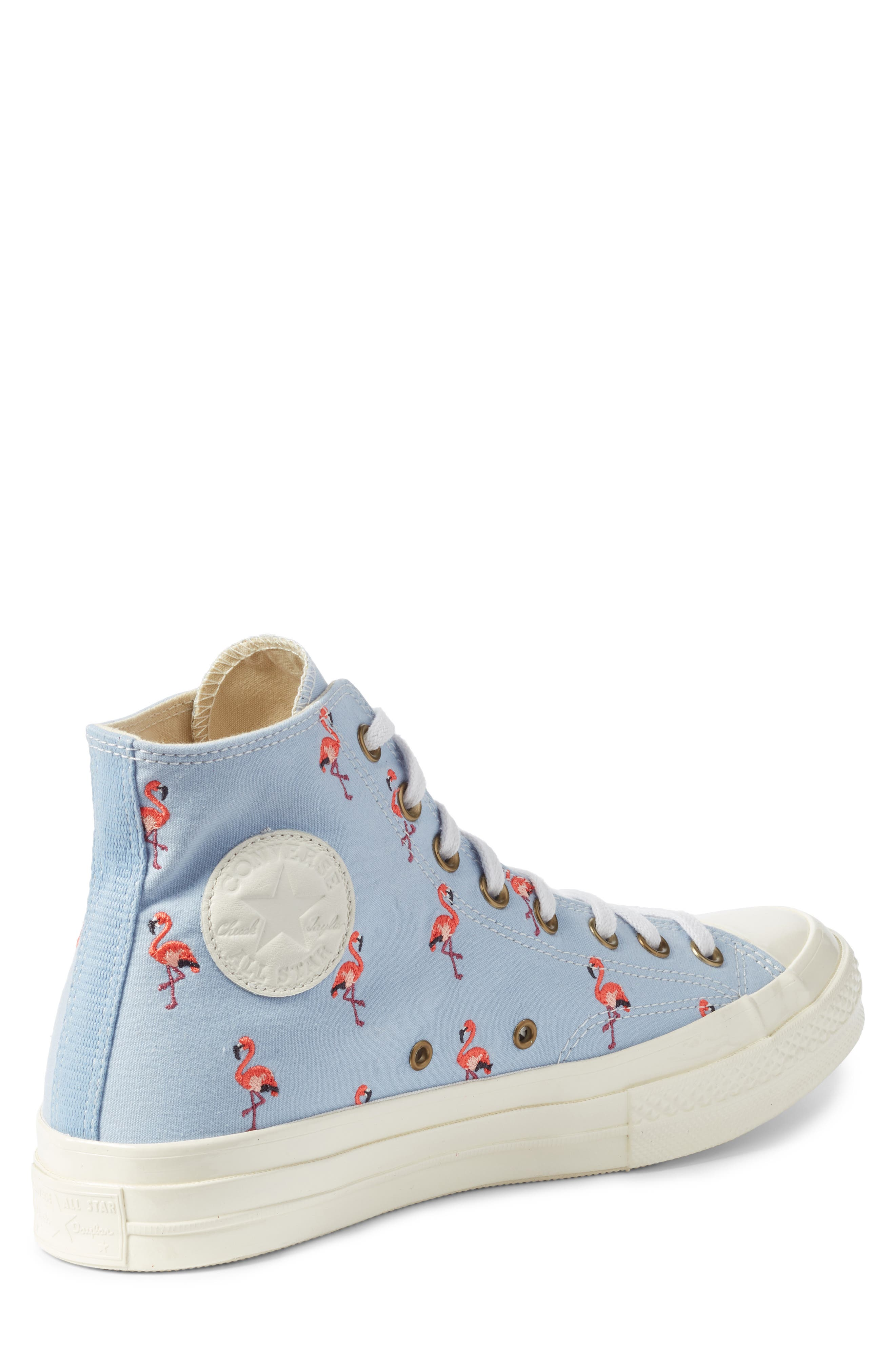Chuck Taylor<sup>®</sup> All Star<sup>®</sup> Chuck 70 Flamingo Sneaker,                             Alternate thumbnail 2, color,                             Blue Chili
