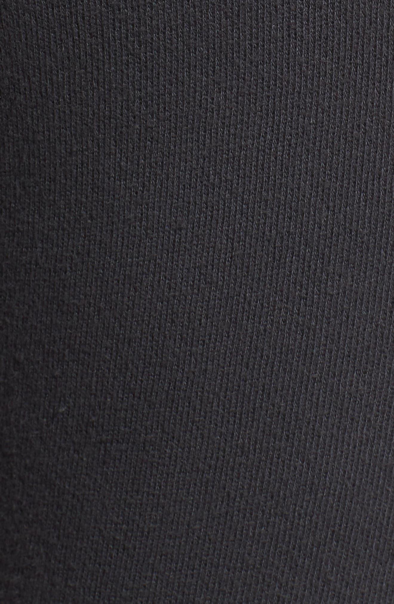 Snoopy Sweatpants,                             Alternate thumbnail 6, color,                             Black
