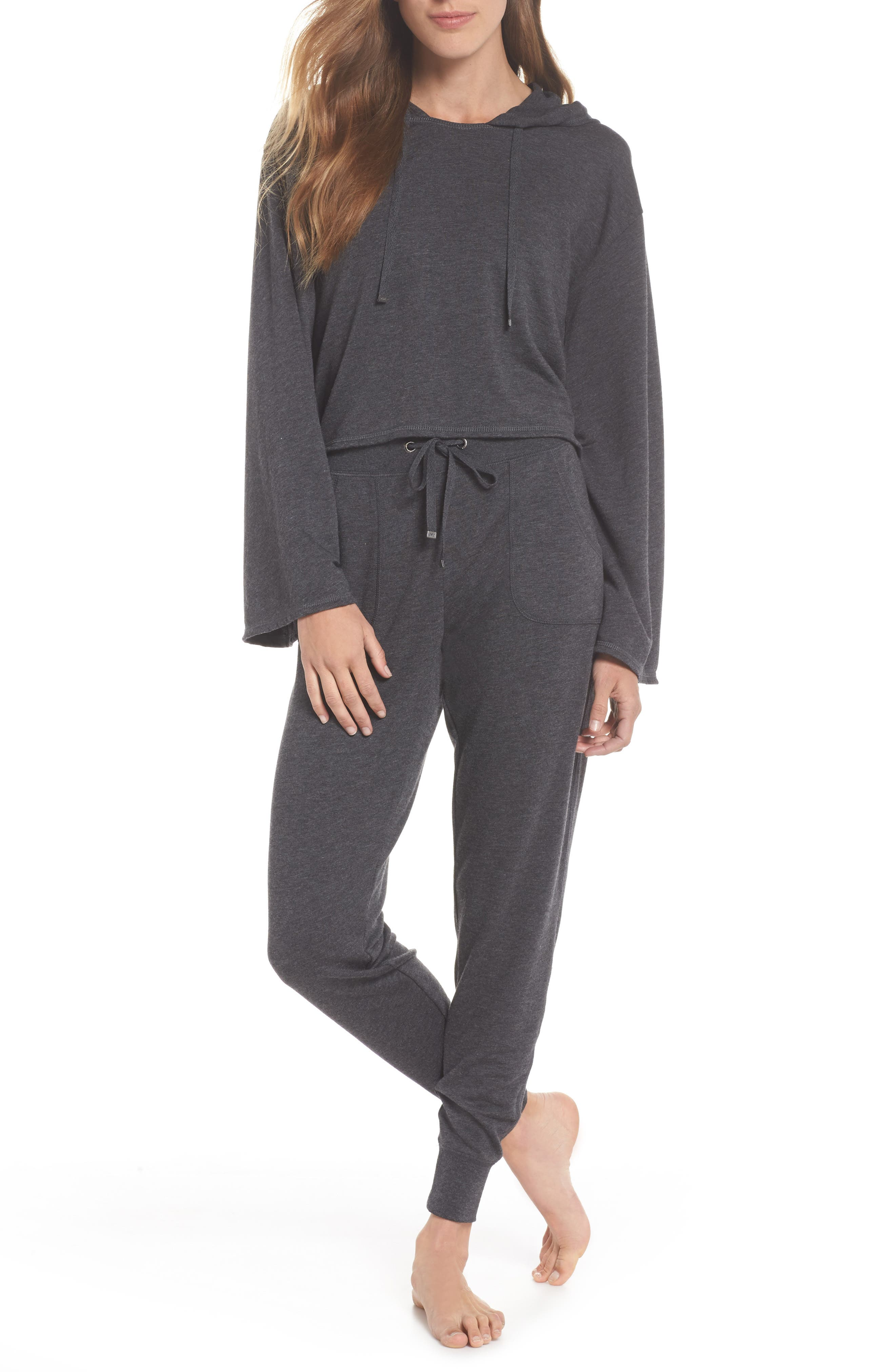 All About It Lounge Pants,                             Alternate thumbnail 2, color,                             Grey Wolf Heather