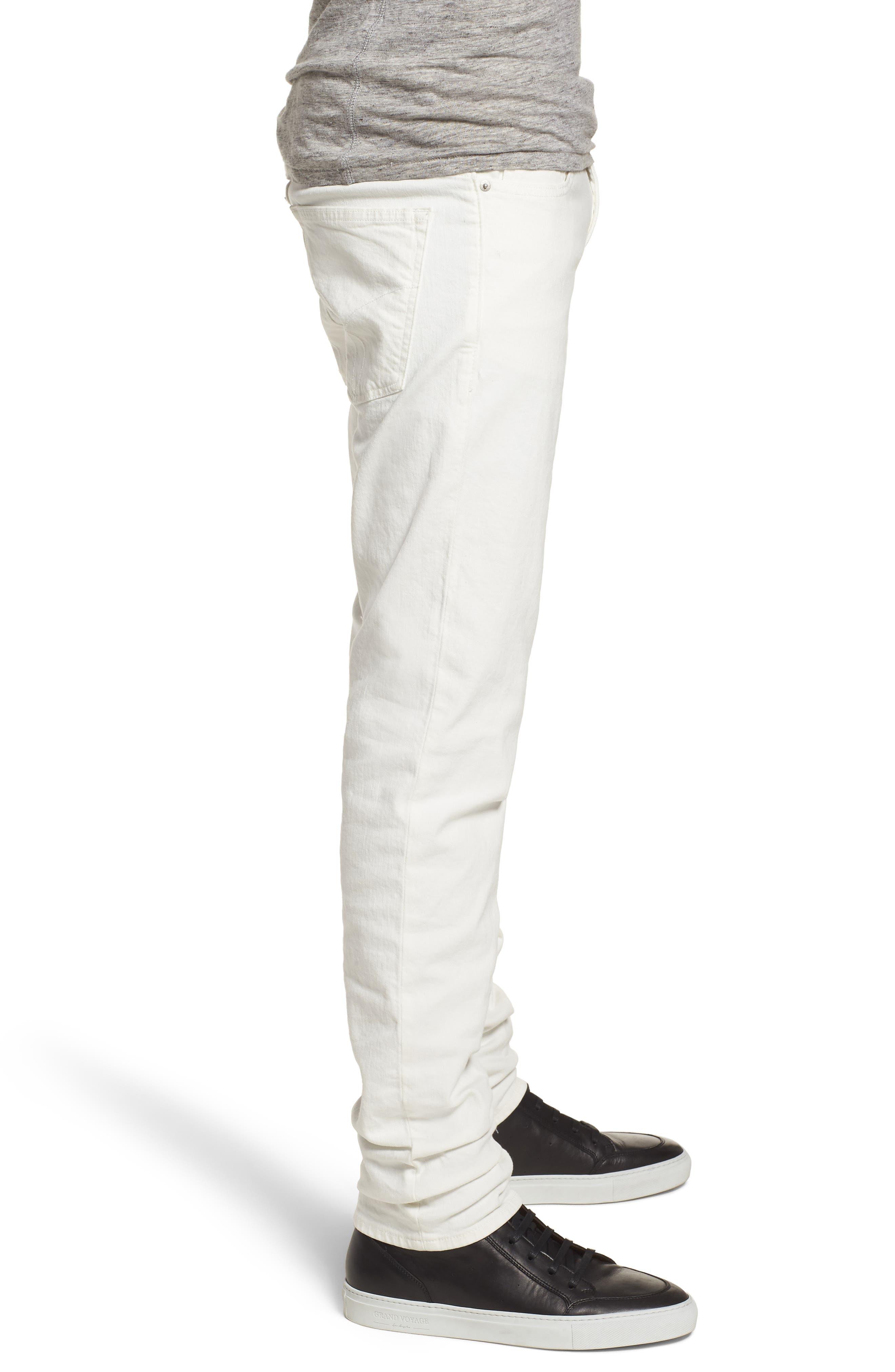 Slim Fit Jeans,                             Alternate thumbnail 3, color,                             Glass