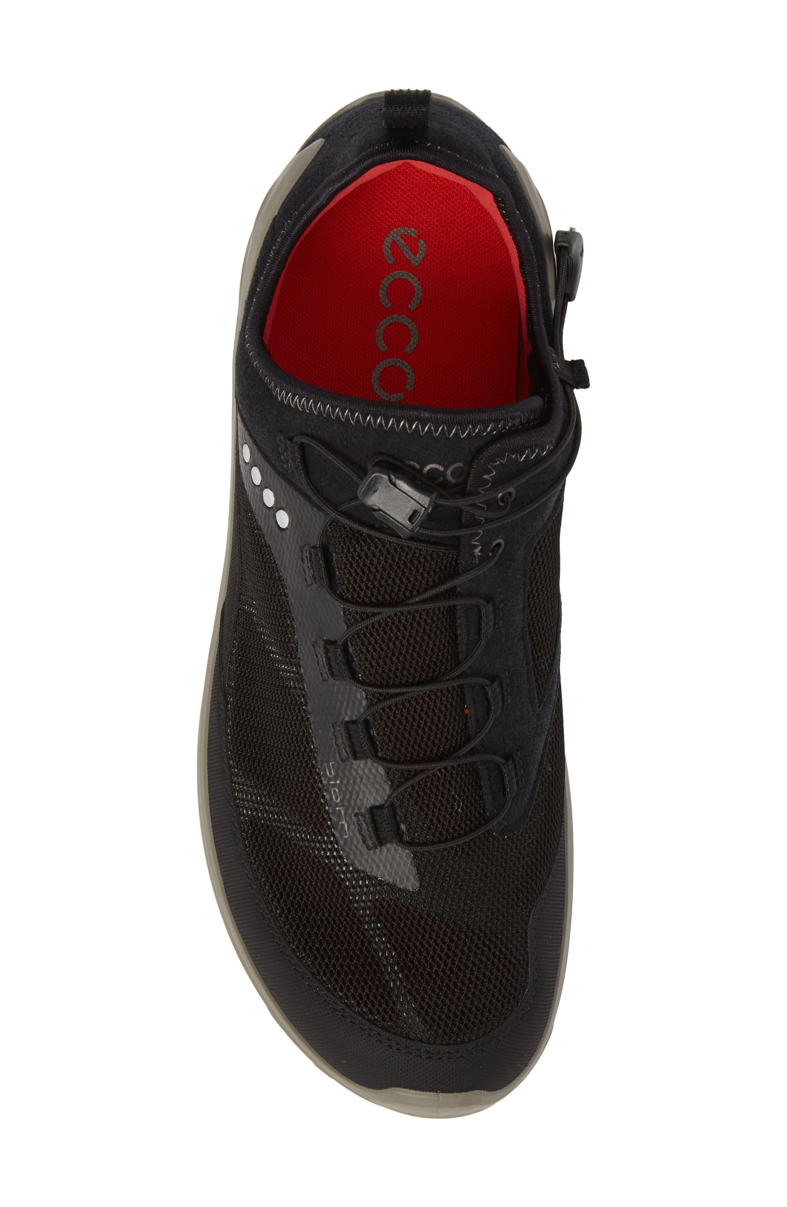 Biom Venture Sneaker,                             Alternate thumbnail 5, color,                             Black Leather