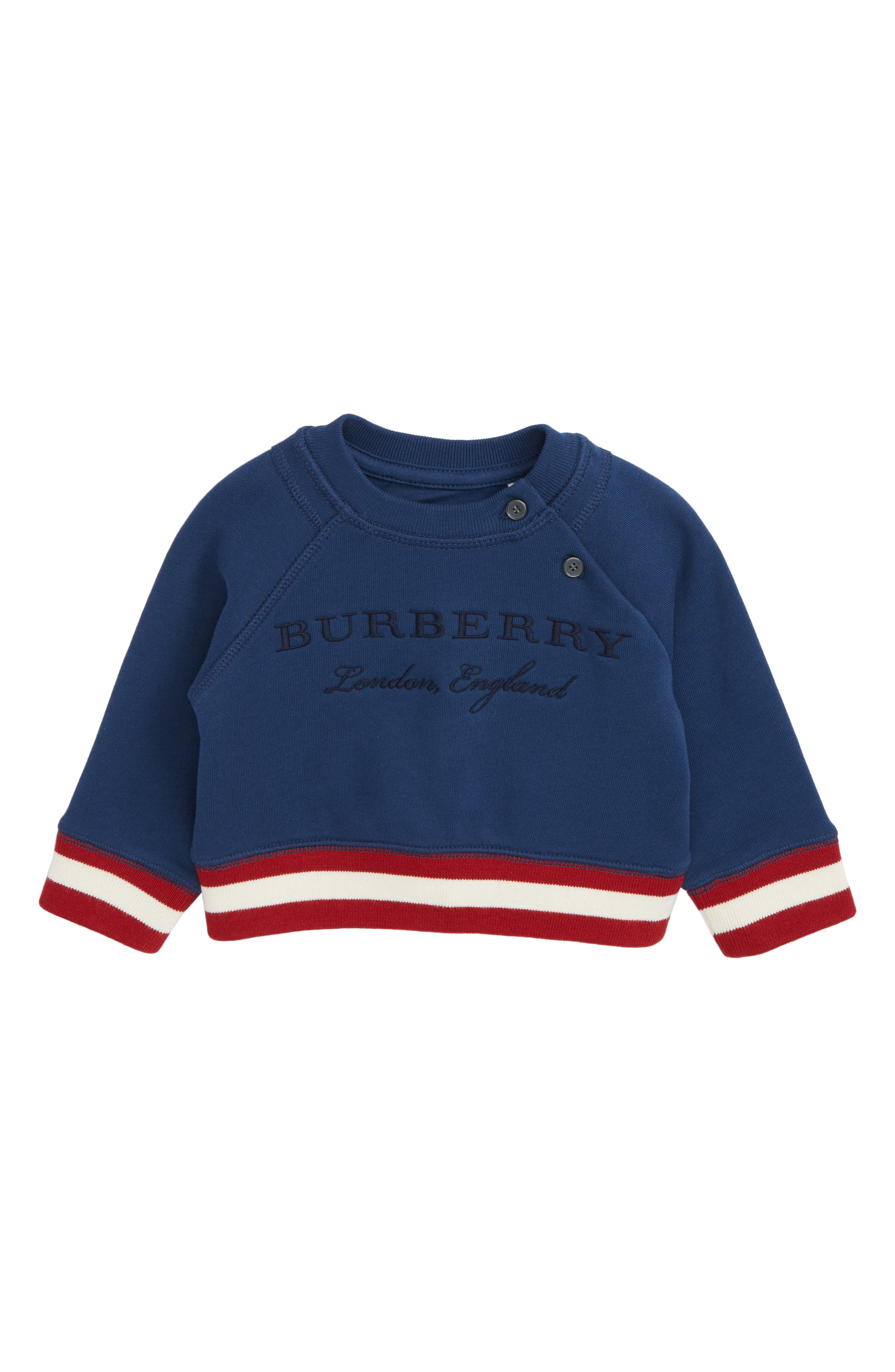 Burberry Mini Stanley Stripe Sweatshirt (Baby Boys)