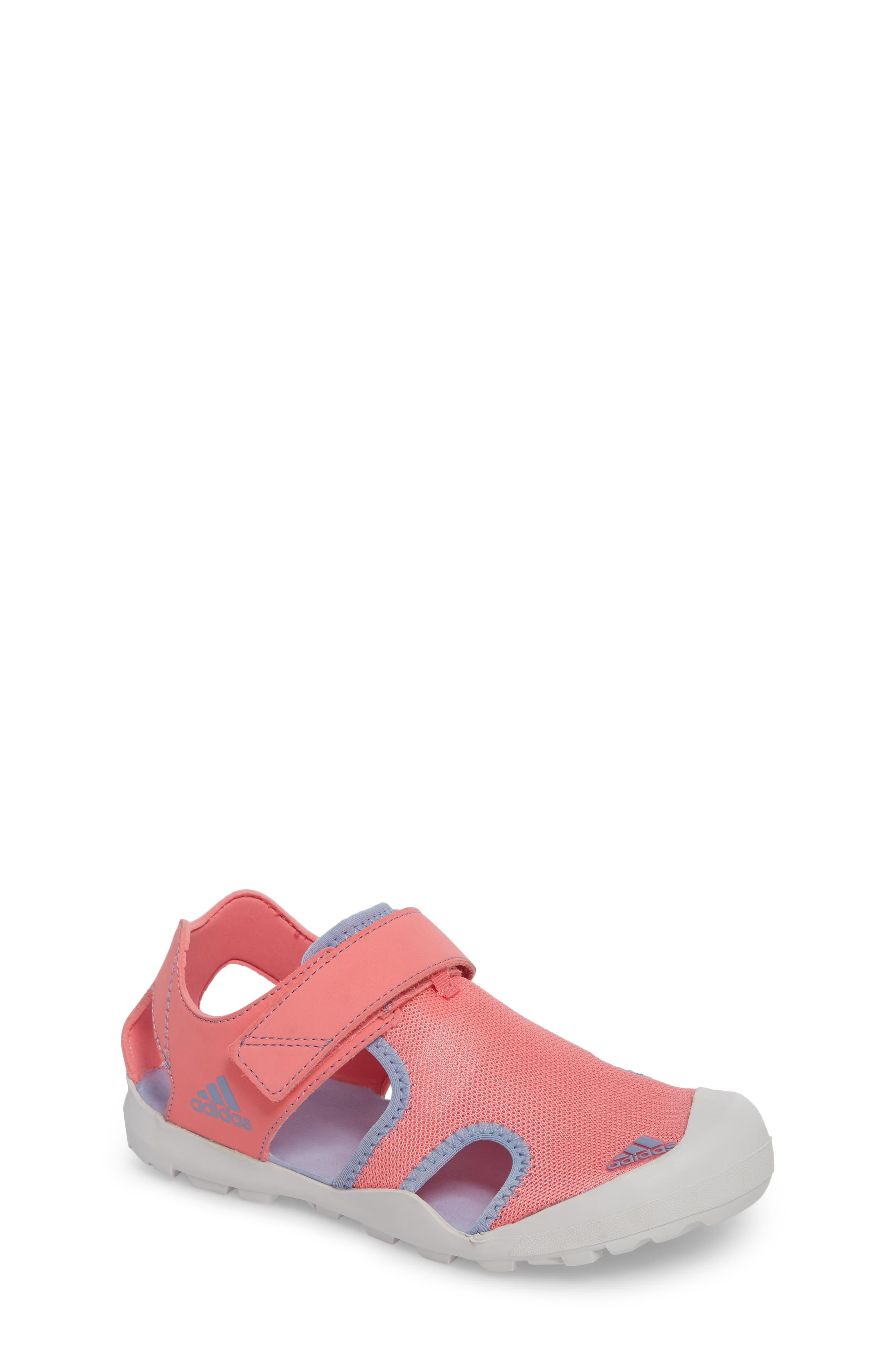 'Captain Toey' Sandal,                             Main thumbnail 1, color,                             Chalk Pink/ Chalk Blue/ Grey