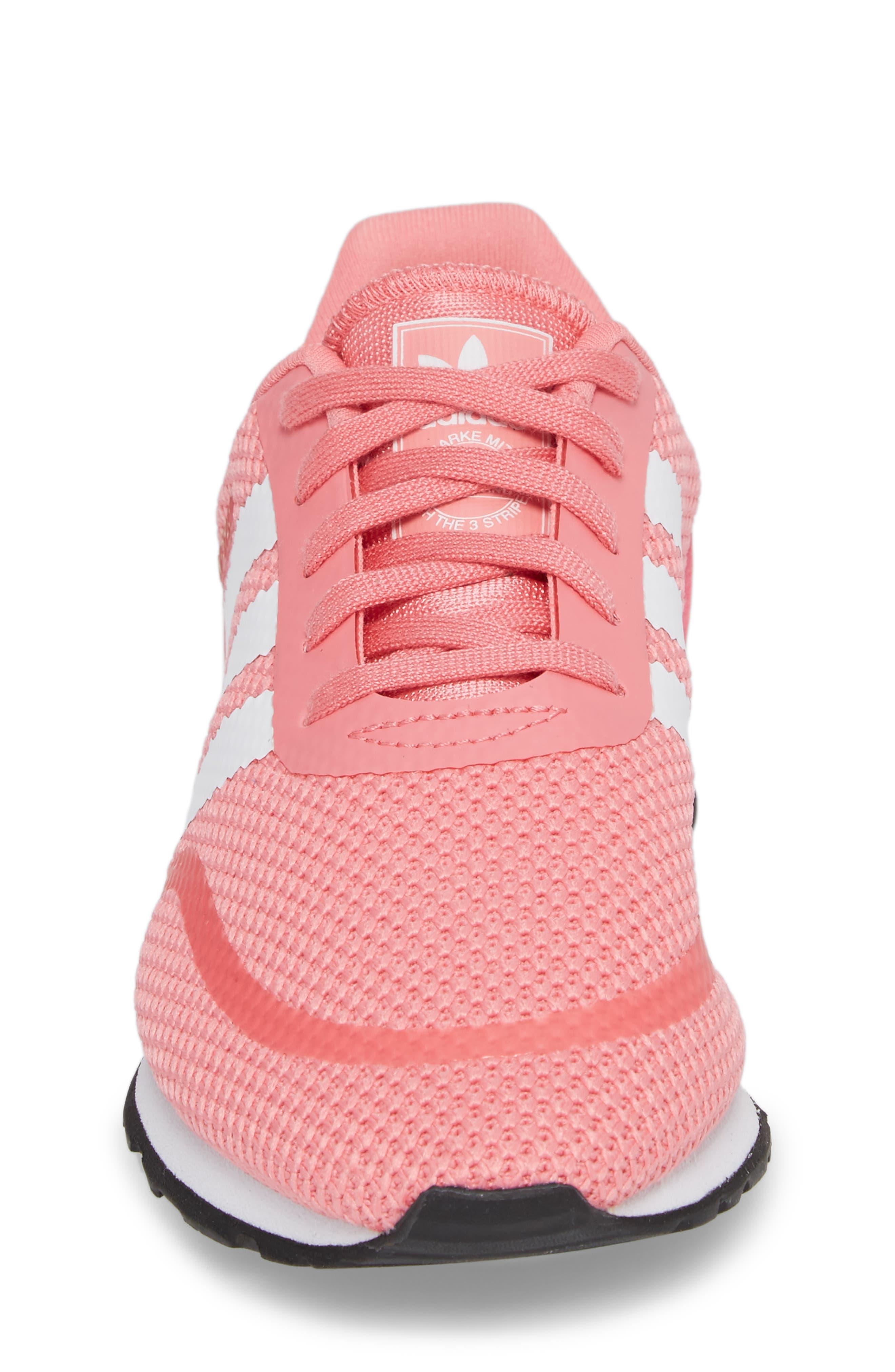 N-5923 Sneaker,                             Alternate thumbnail 4, color,                             Chalk Pink / White / White