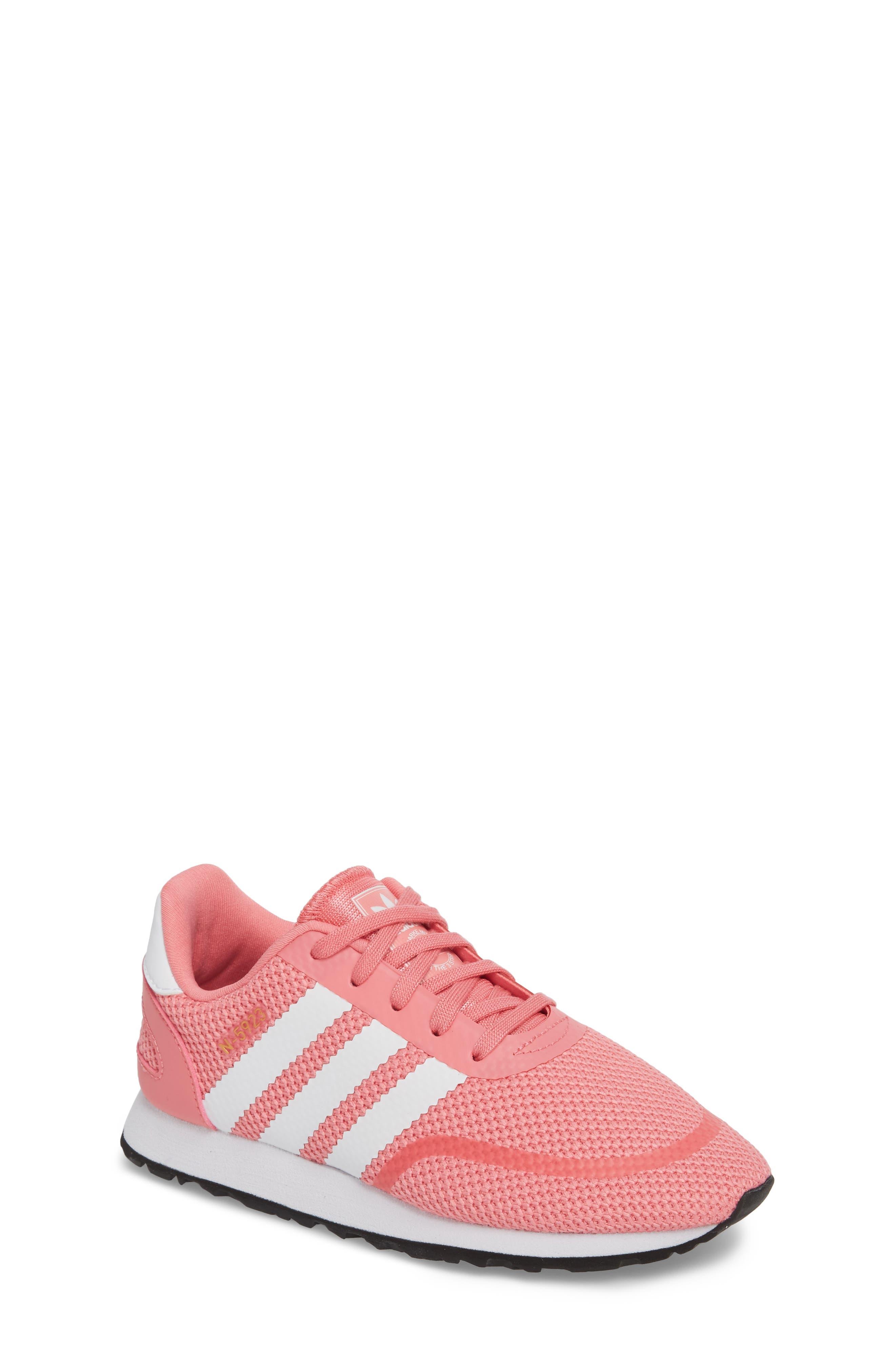 N-5923 Sneaker,                             Main thumbnail 1, color,                             Chalk Pink / White / White