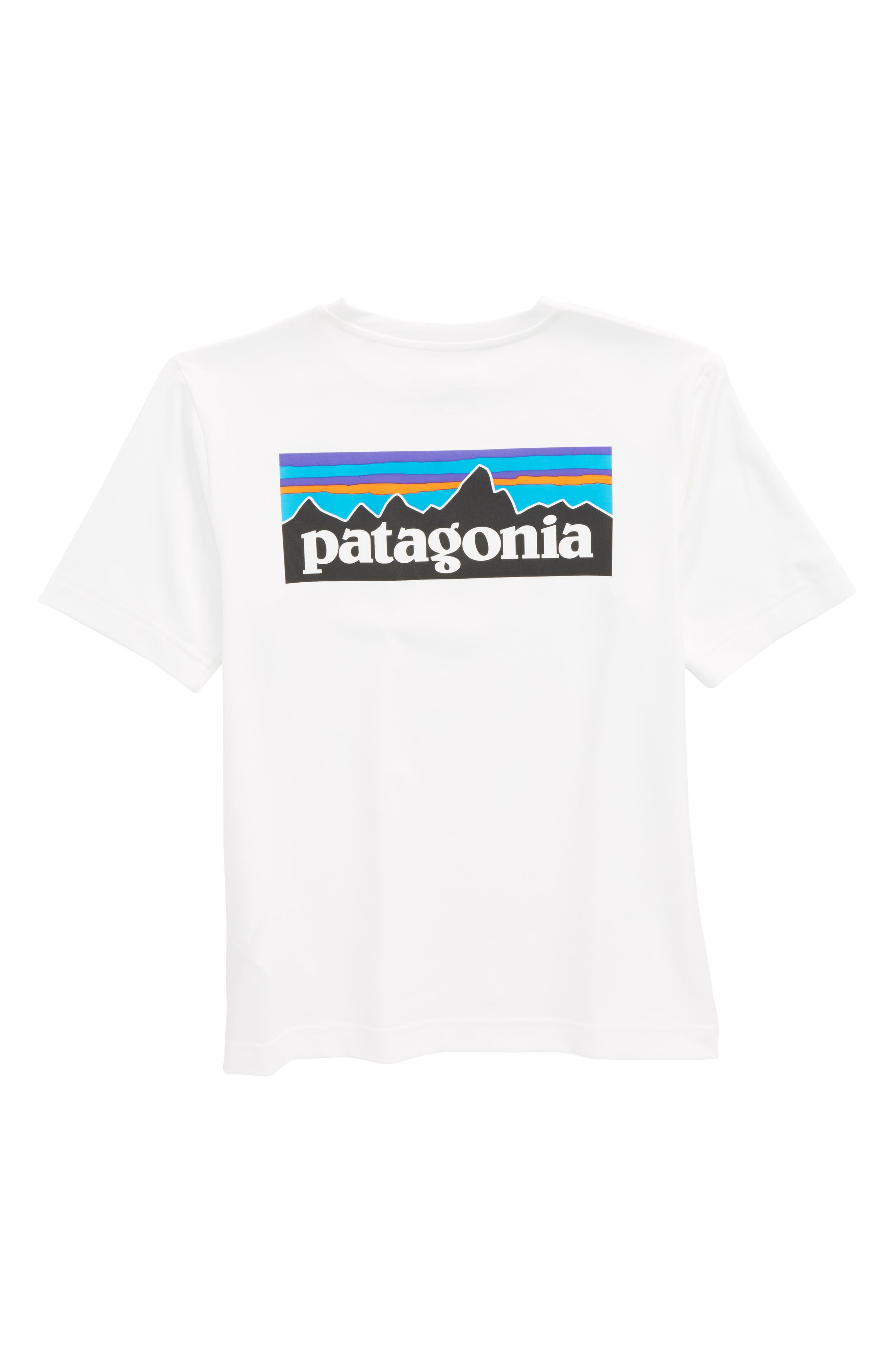 Capilene<sup>®</sup> Graphic T-Shirt,                             Alternate thumbnail 2, color,                             White
