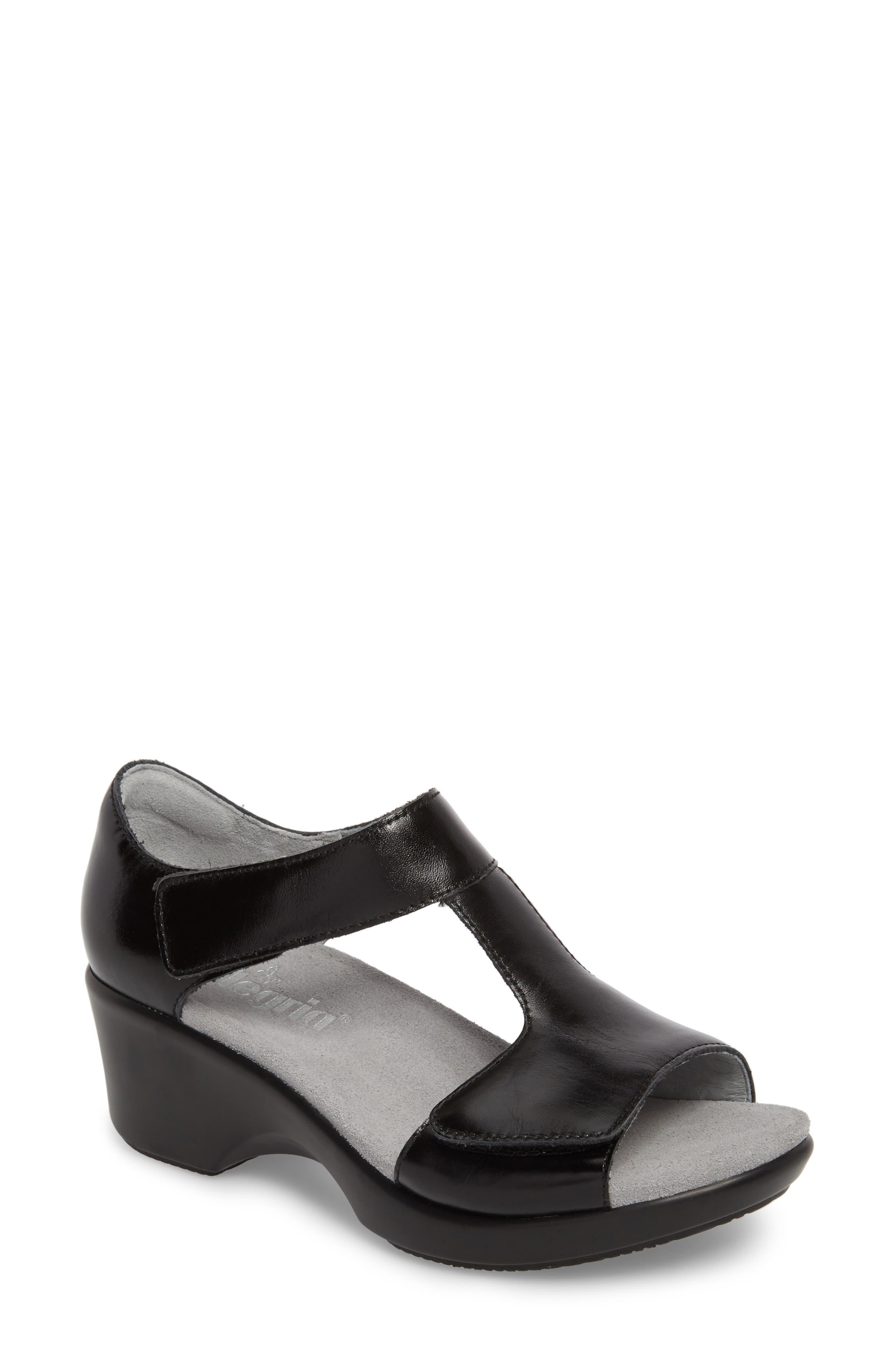 by PG Lite Riki T-Strap Sandal,                             Main thumbnail 1, color,                             Yaz Leather