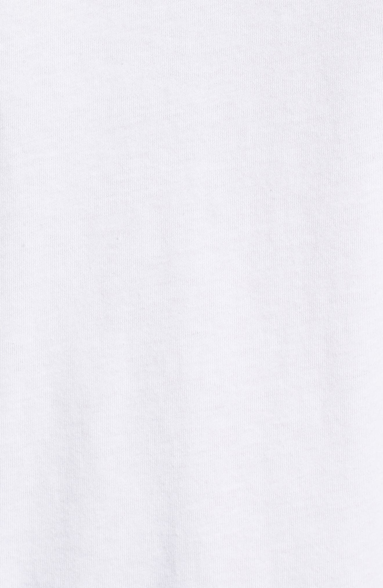 Taste the Paradise Graphic T-Shirt,                             Alternate thumbnail 5, color,                             White