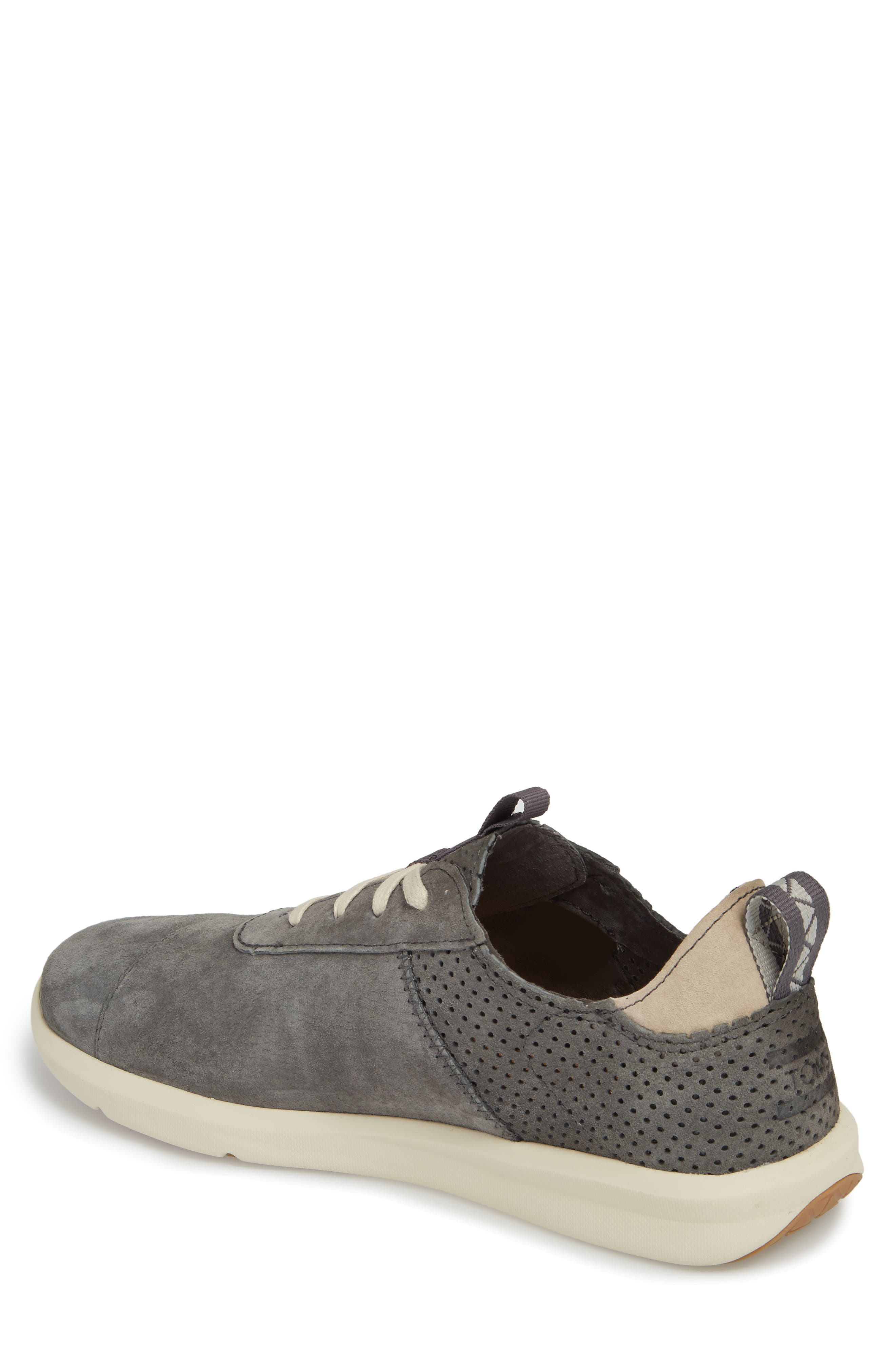 Cabrillo Perforated Low Top Sneaker,                             Alternate thumbnail 2, color,                             Shade Suede