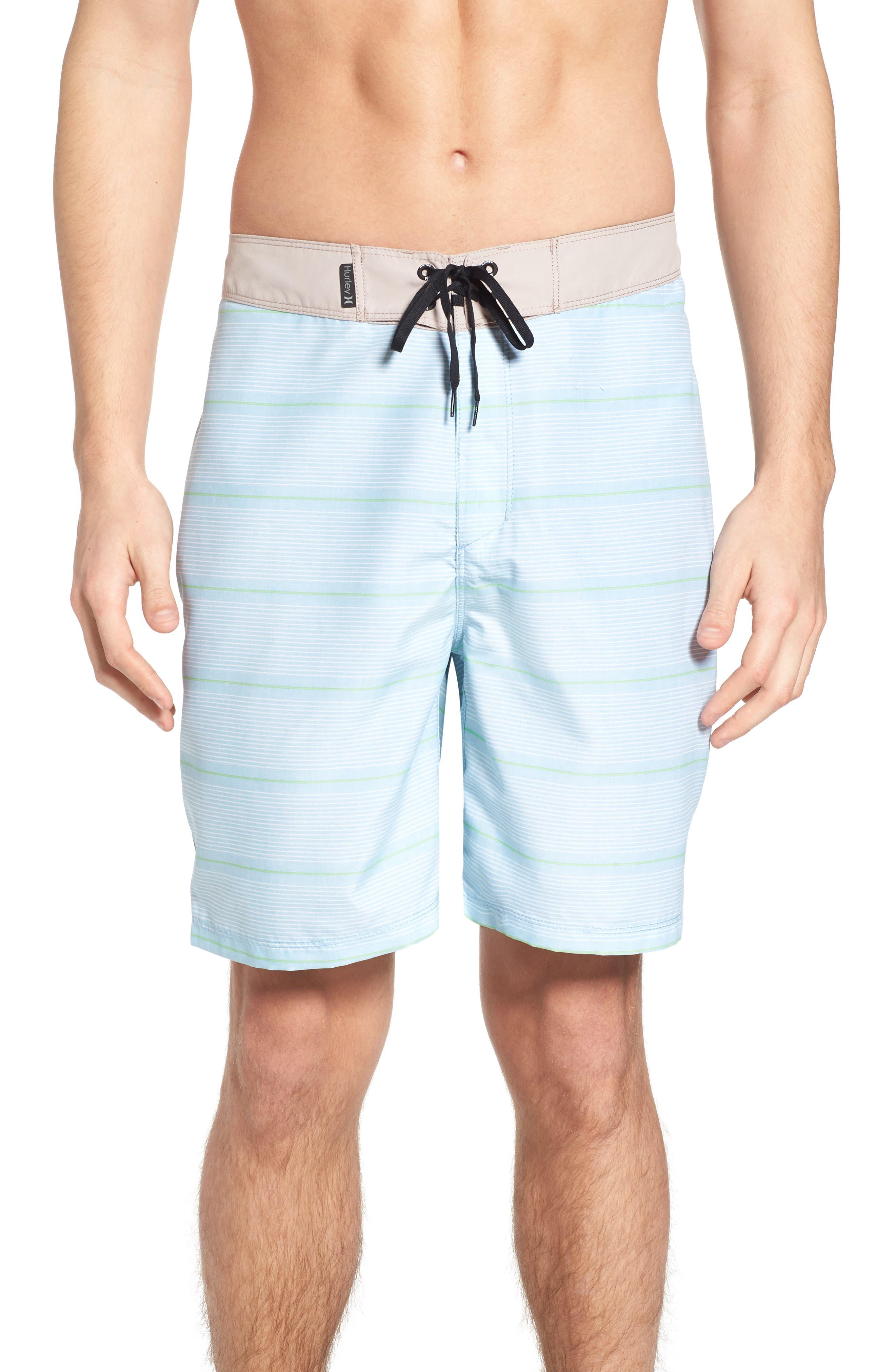 Shoreside Board Shorts,                         Main,                         color, Ocean Bliss