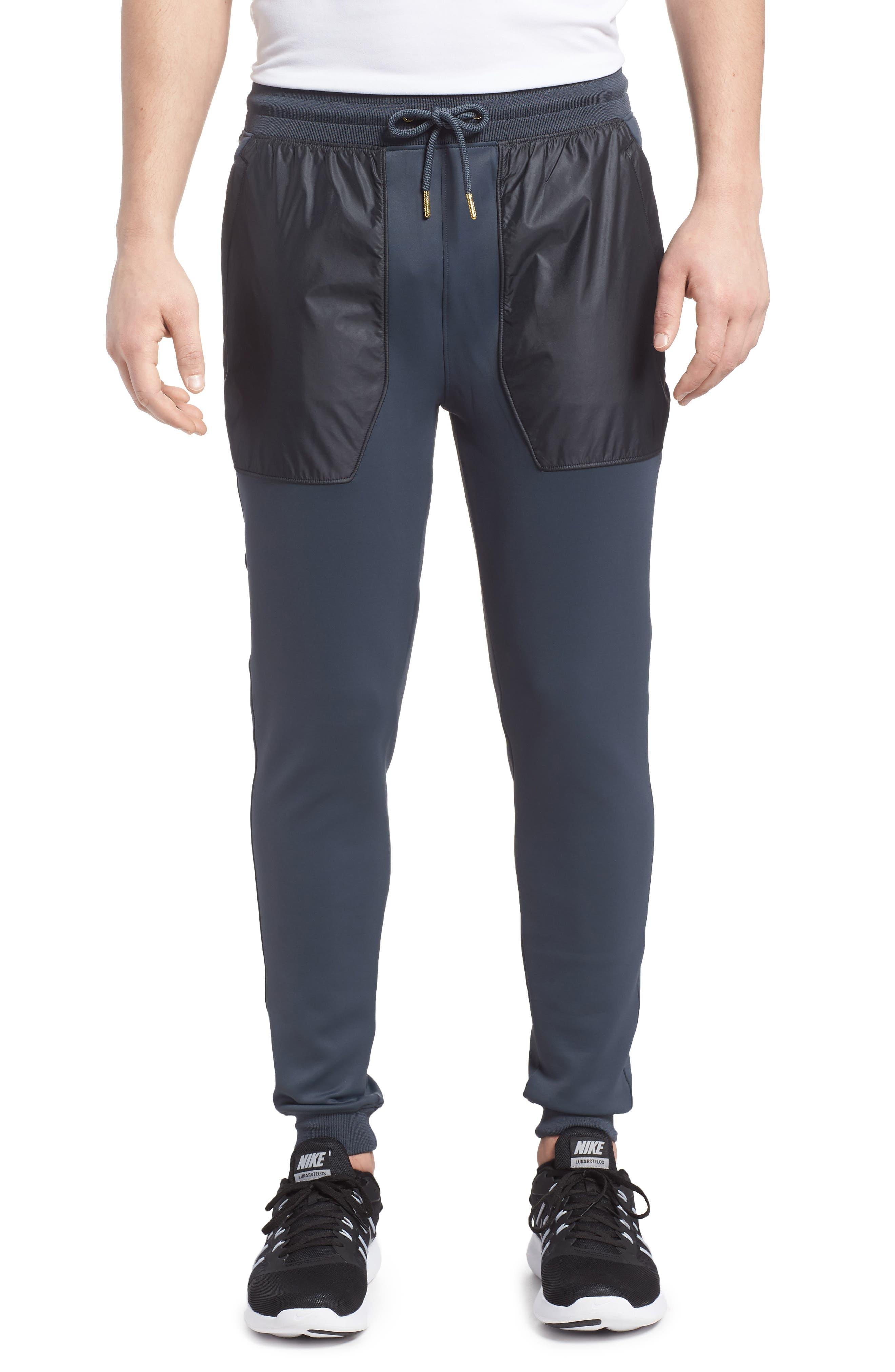 Utility Jogger Pants,                         Main,                         color, Stealth Gray/ Black