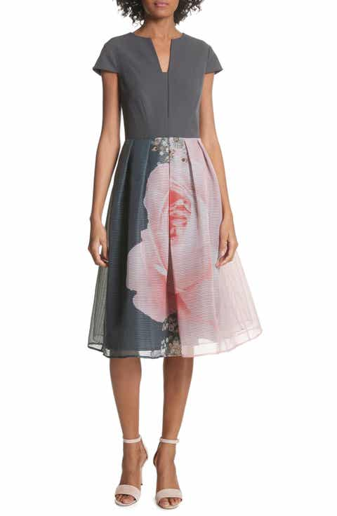 Ted Baker London Noura Midi Dress