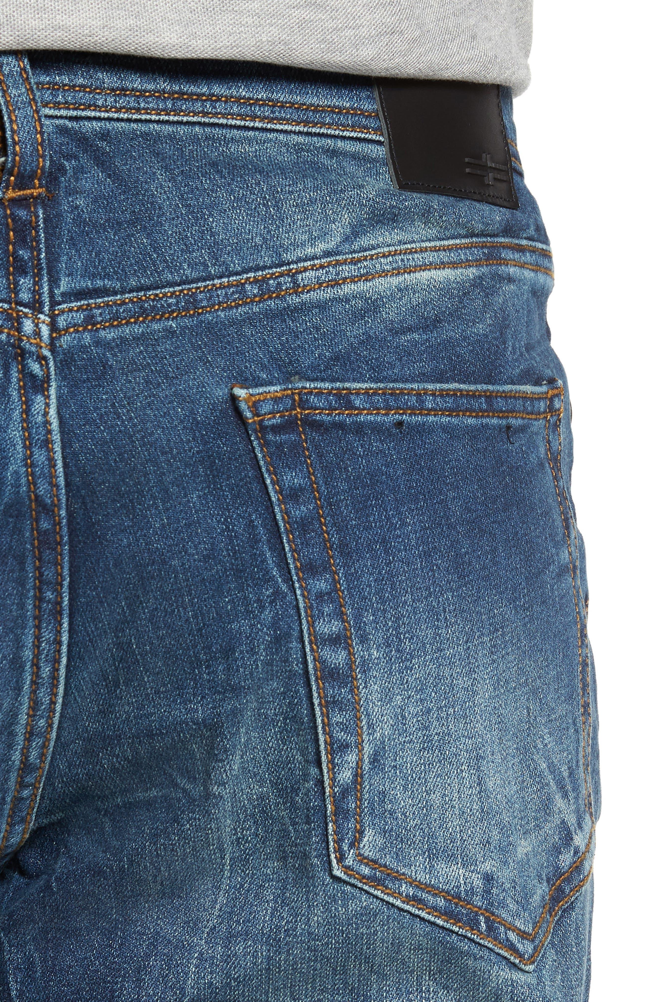 Jeans Co. Regent Relaxed Fit Jeans,                             Alternate thumbnail 4, color,                             Odessa Vintage Medium