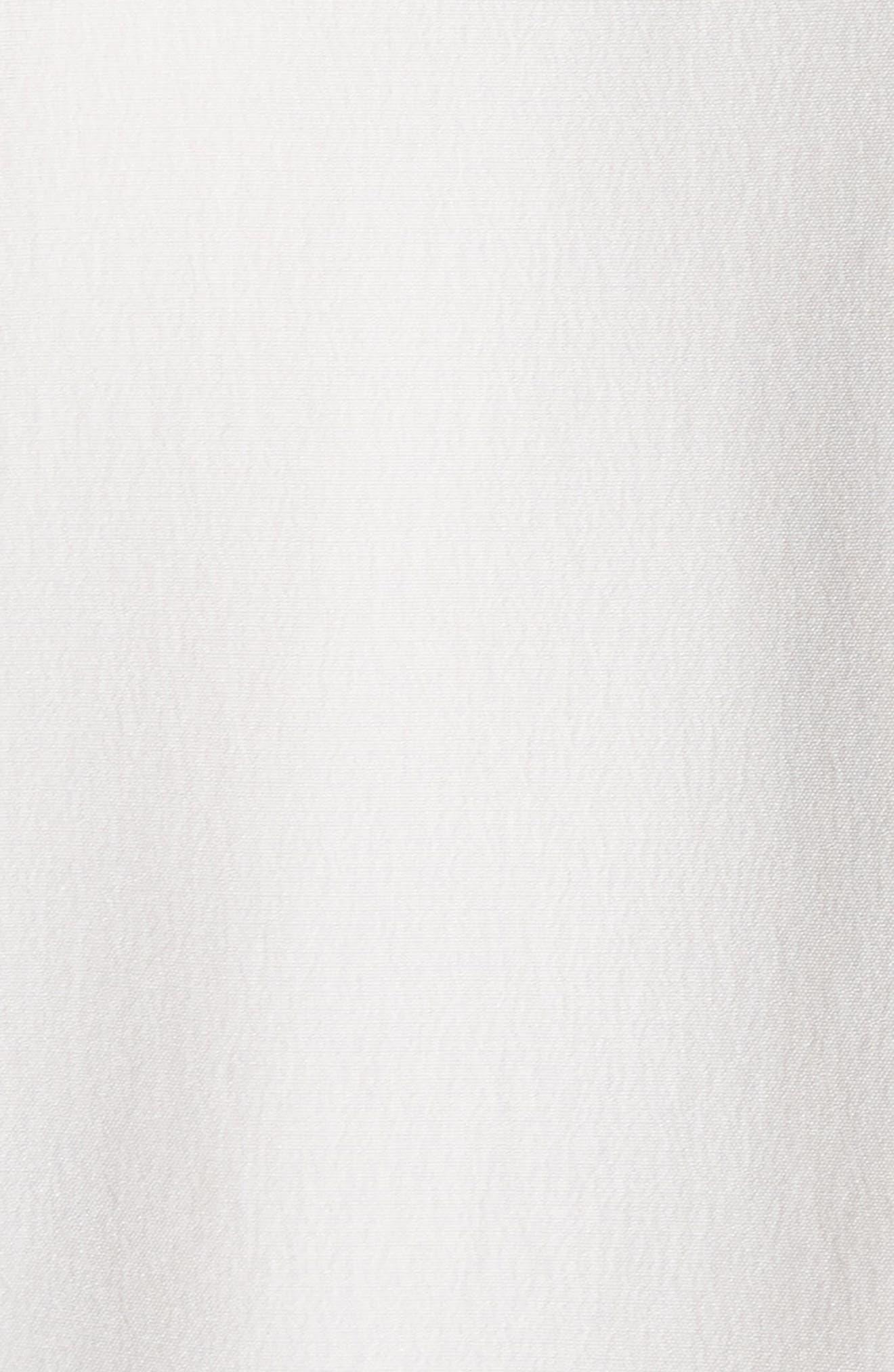 Eulalia Woven Sleeveless Silk Top,                             Alternate thumbnail 5, color,                             Porcelain