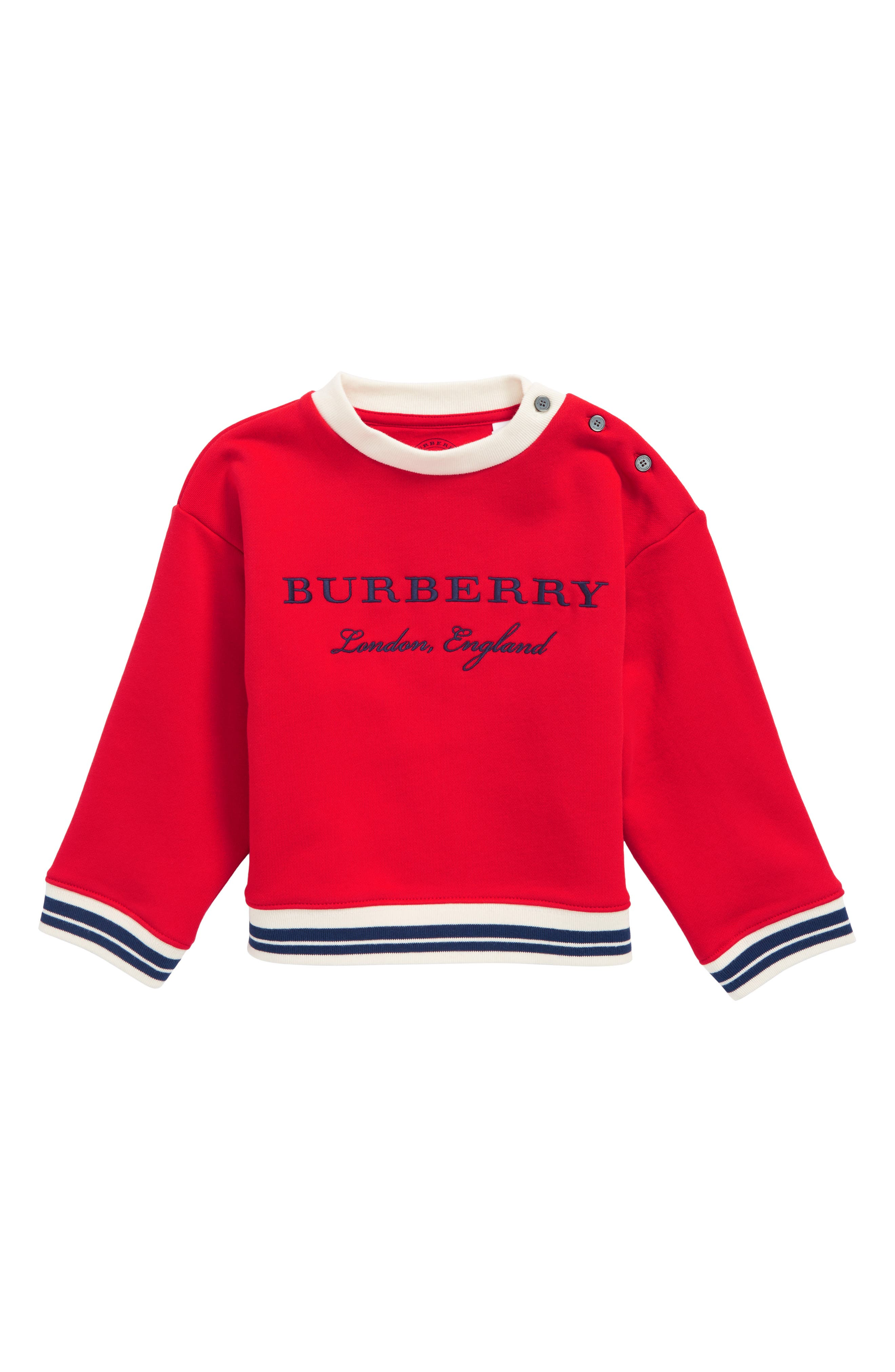Burberry Emillia Logo Sweatshirt (Toddler boys)