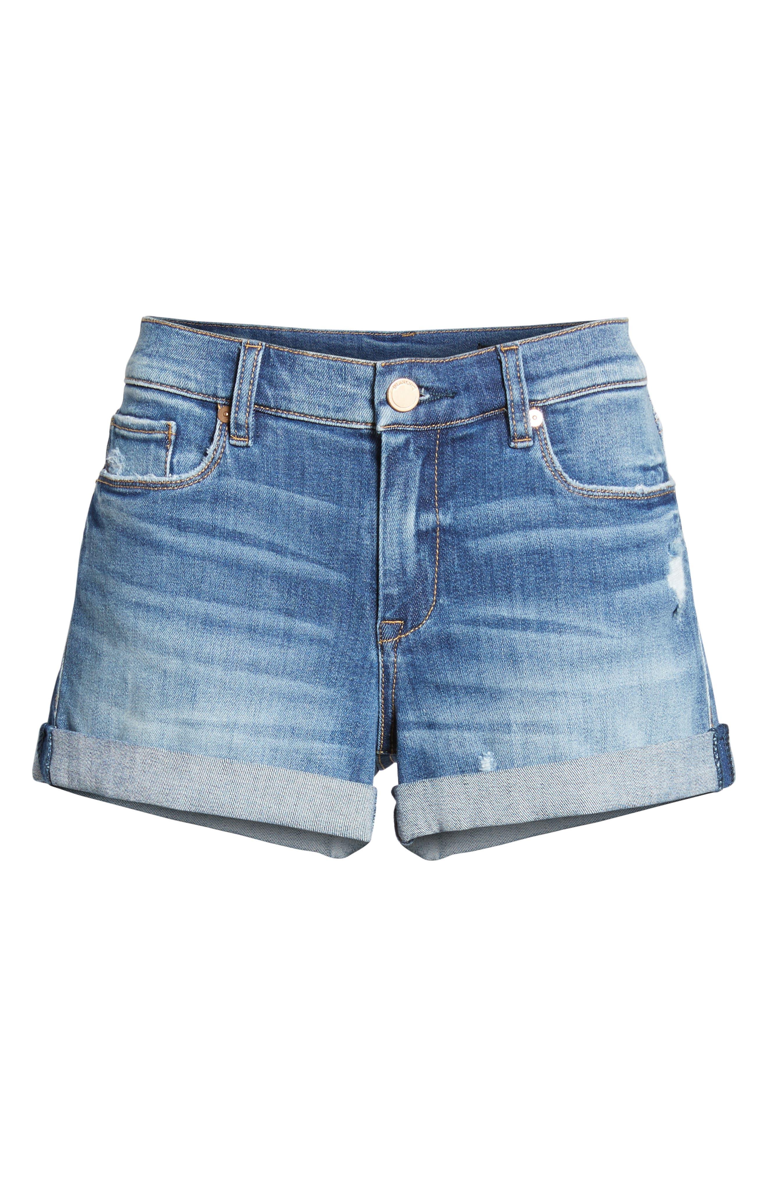 The Fulton Cuffed Denim Shorts,                             Alternate thumbnail 8, color,                             Play Hard
