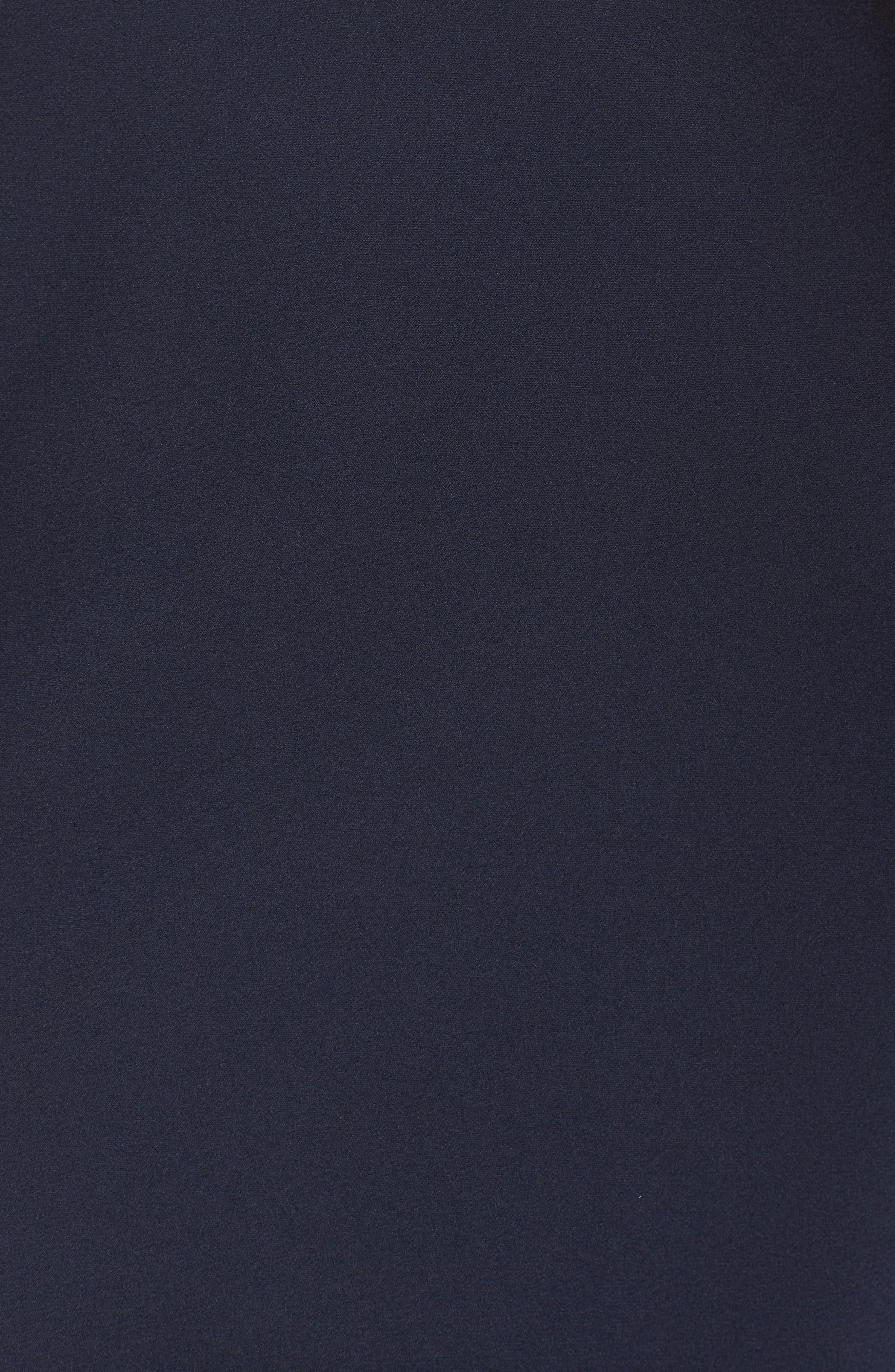 Alternate Image 5  - La Femme Cutout Detail Satin Gown