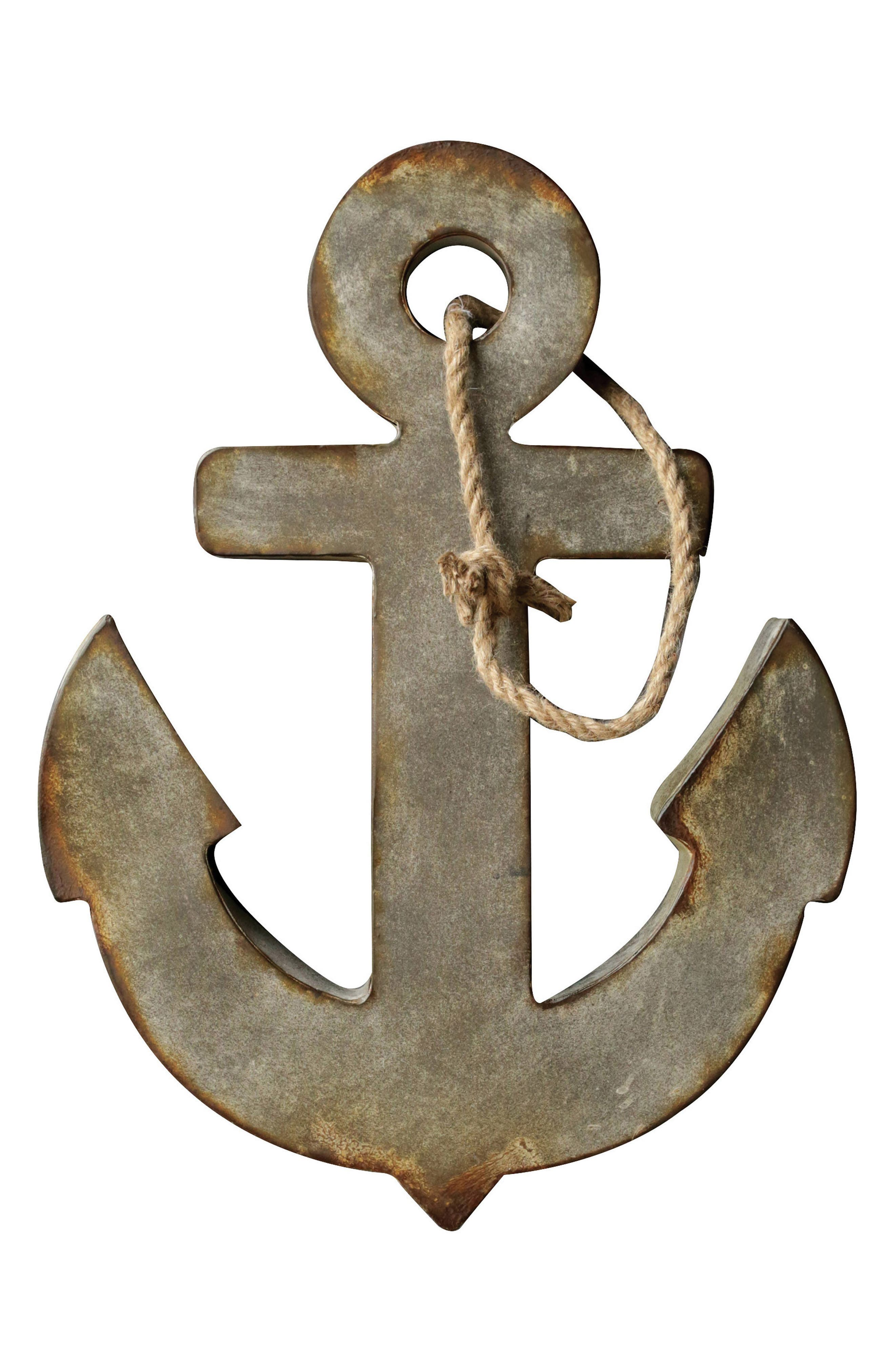 Alternate Image 1 Selected - Creative Co-Op Anchor Wall Art