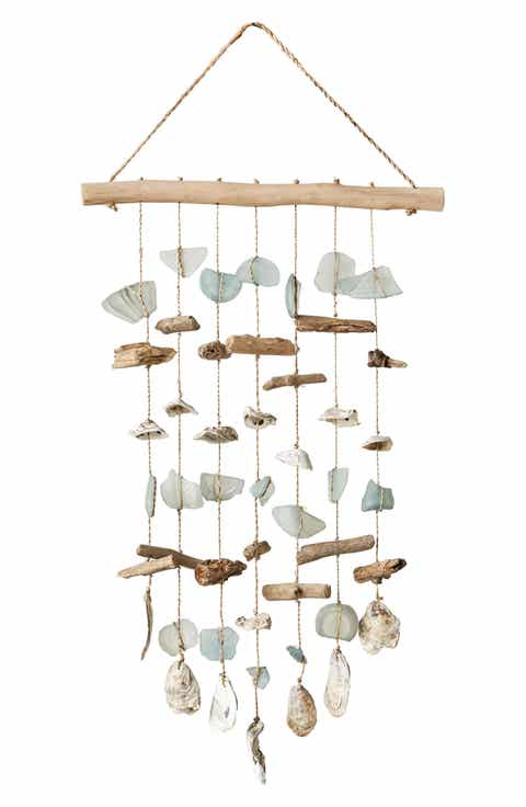 Creative co op home decor nordstrom creative co op driftwood wind chime aloadofball Images