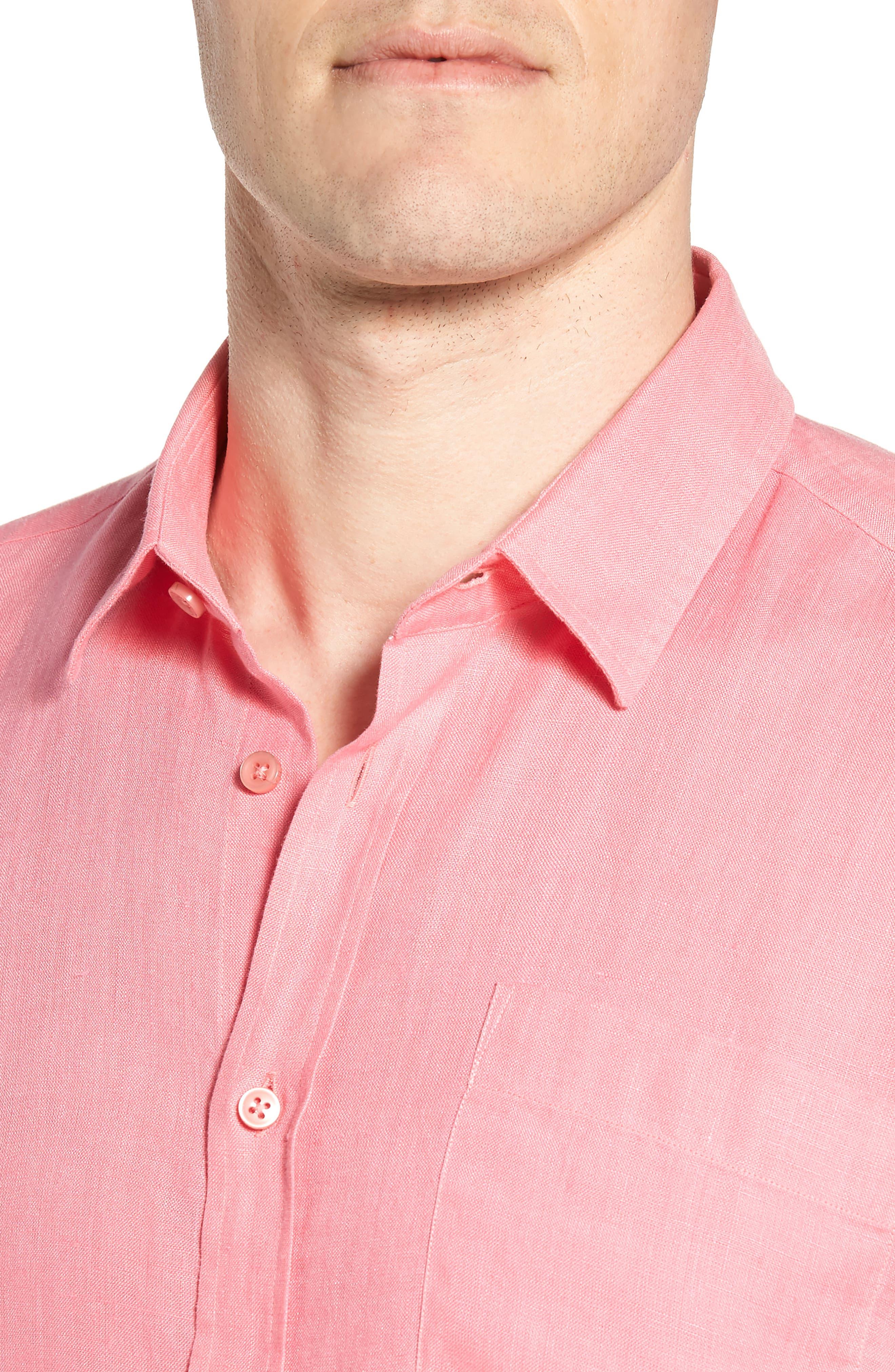 Alternate Image 2  - Vilebrequin Caroubie Regular Fit Linen Sport Shirt