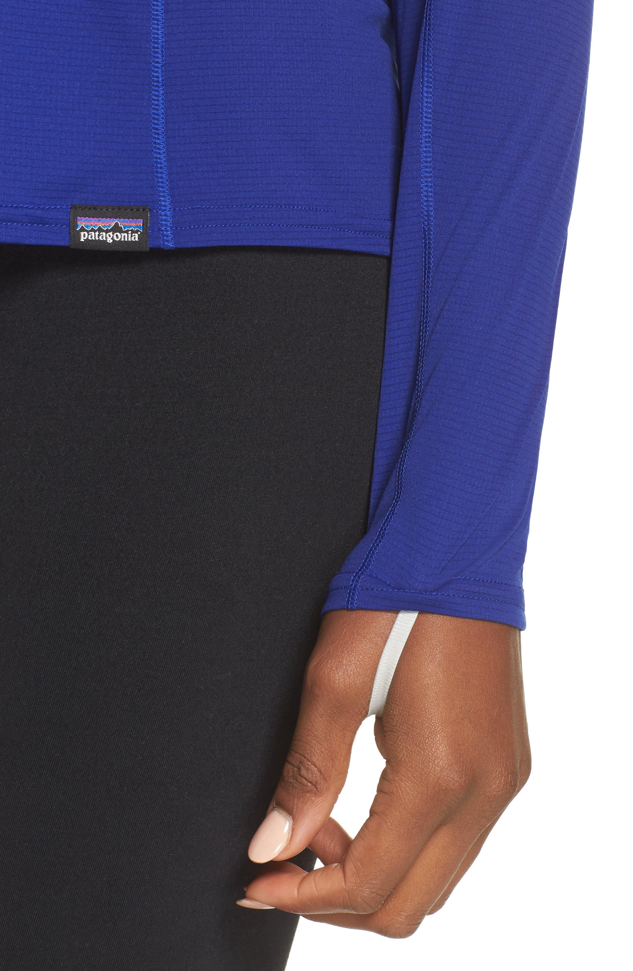 Lightweight Capilene<sup>®</sup> Long-Sleeve Tee,                             Alternate thumbnail 4, color,                             Cobalt Blue