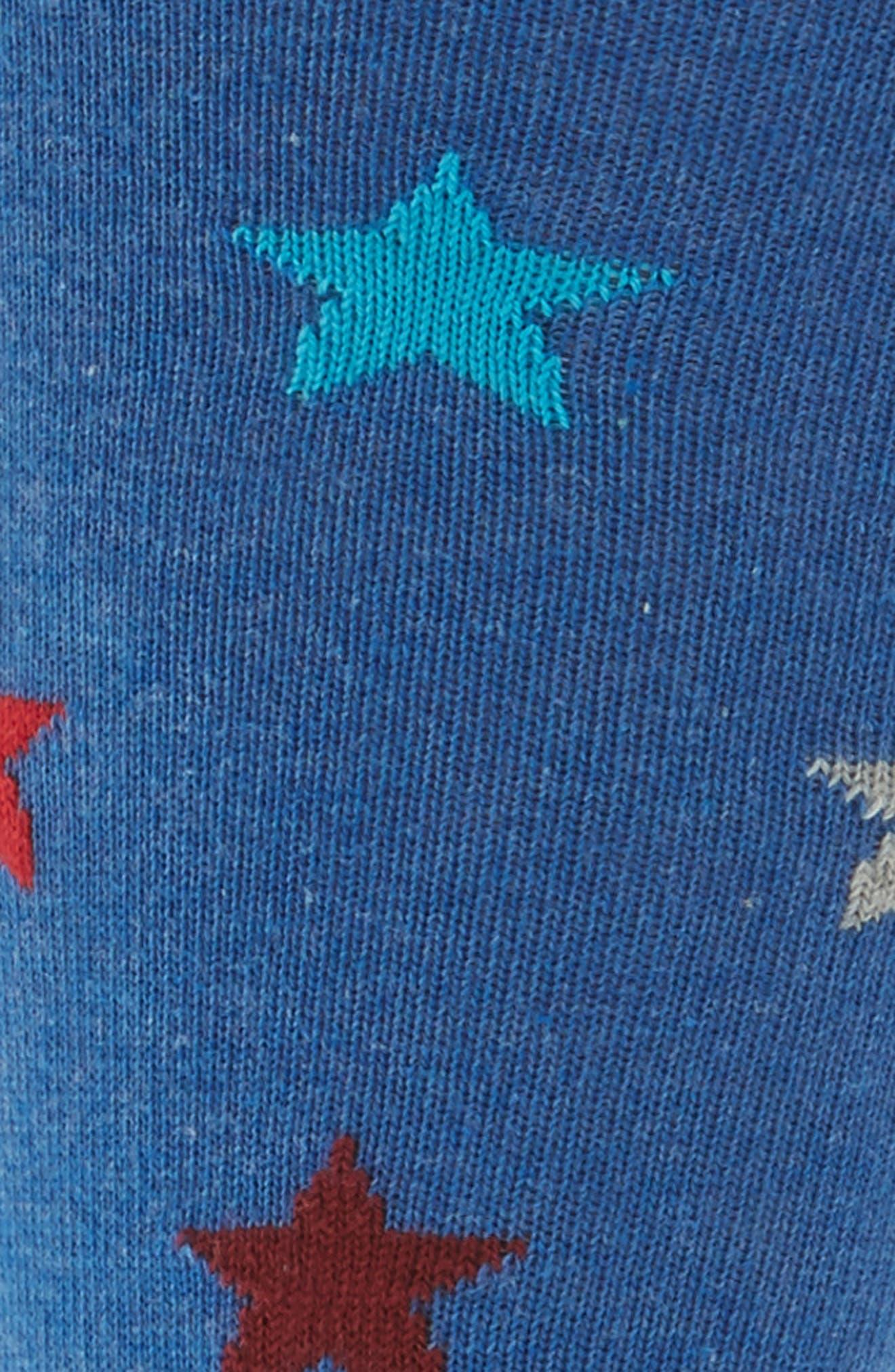 Stars & Stripes Socks,                             Alternate thumbnail 2, color,                             Blue Multi