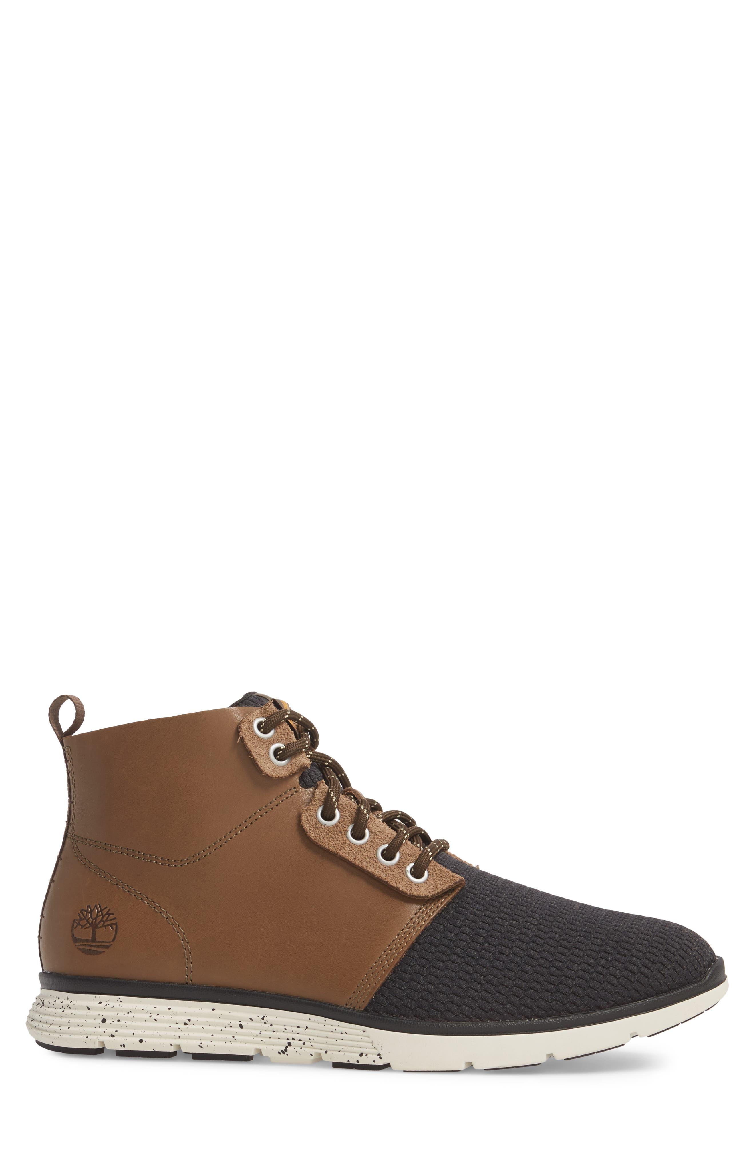 Killington Plain Toe Boot,                             Alternate thumbnail 3, color,                             Buckskin Leather