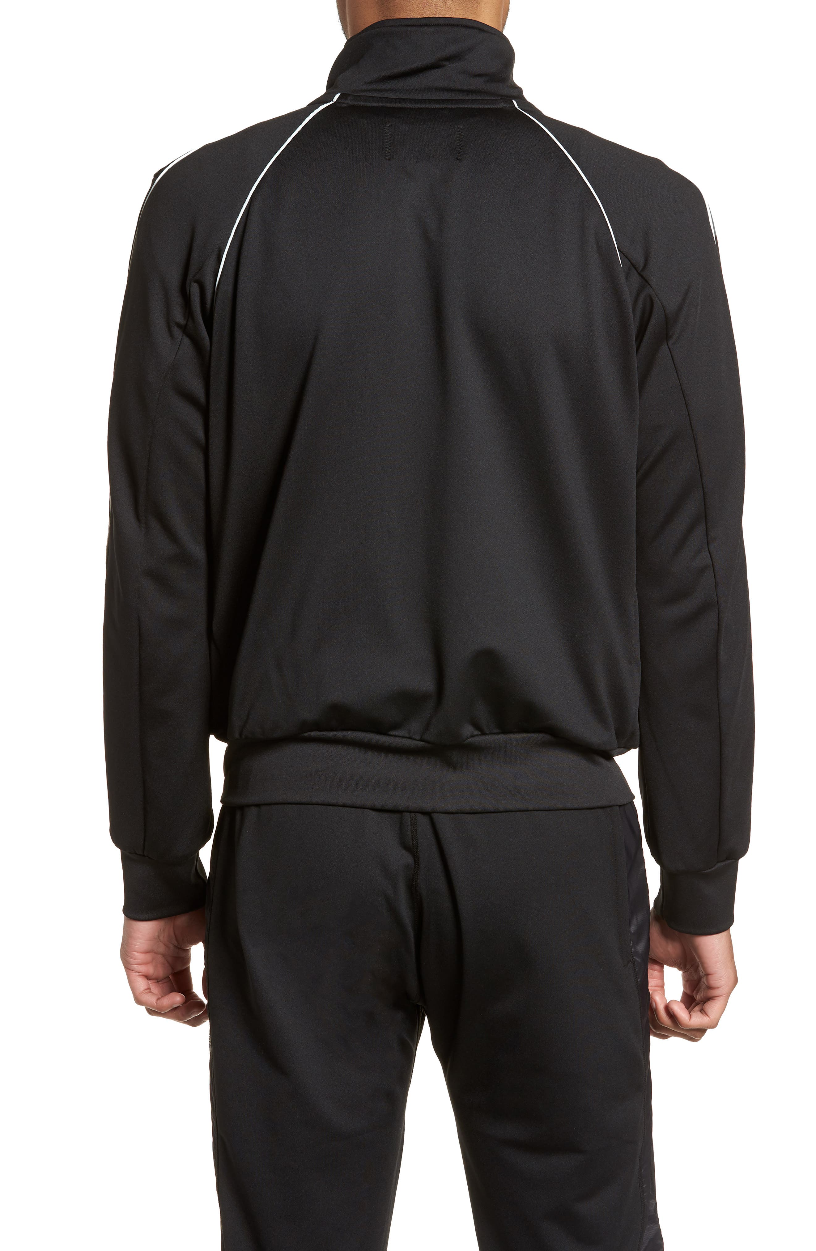 CoolMax<sup>®</sup> Track Jacket,                             Alternate thumbnail 2, color,                             Black