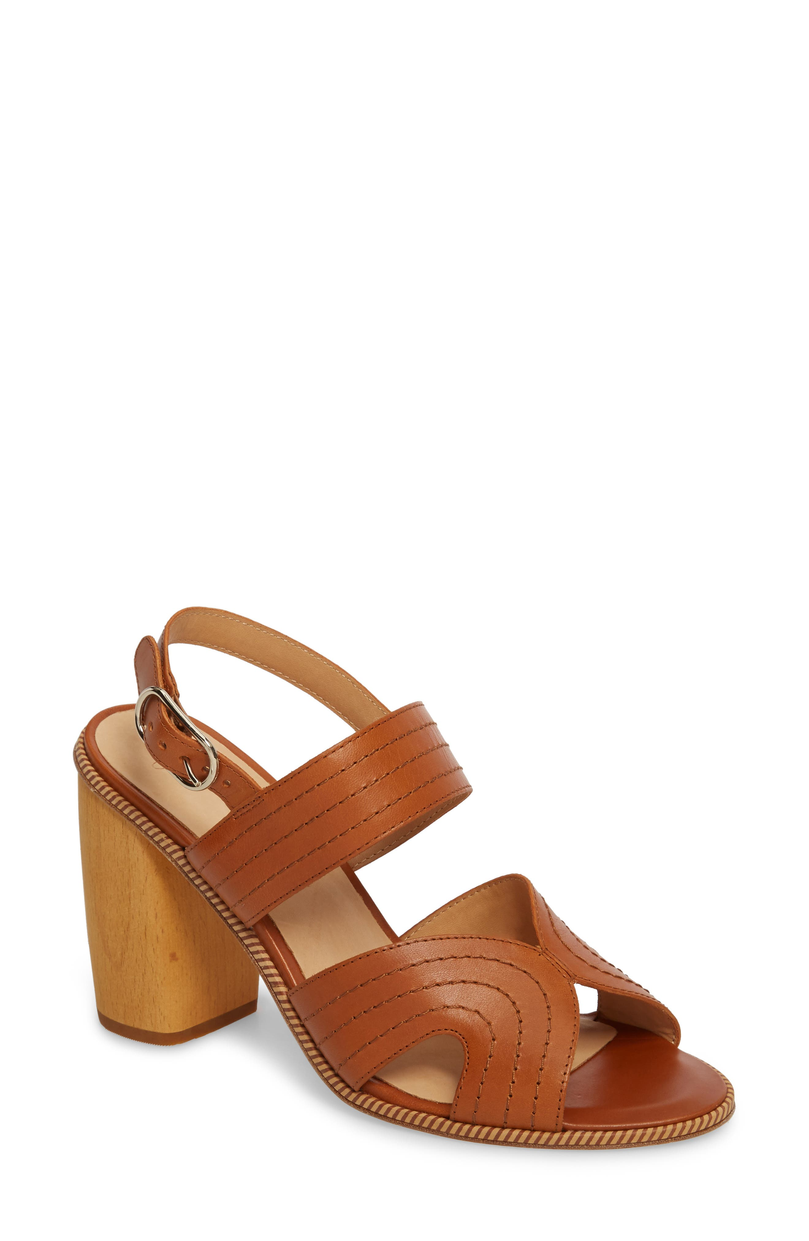 Joie Aforleen Block Heel Sandal (Women)