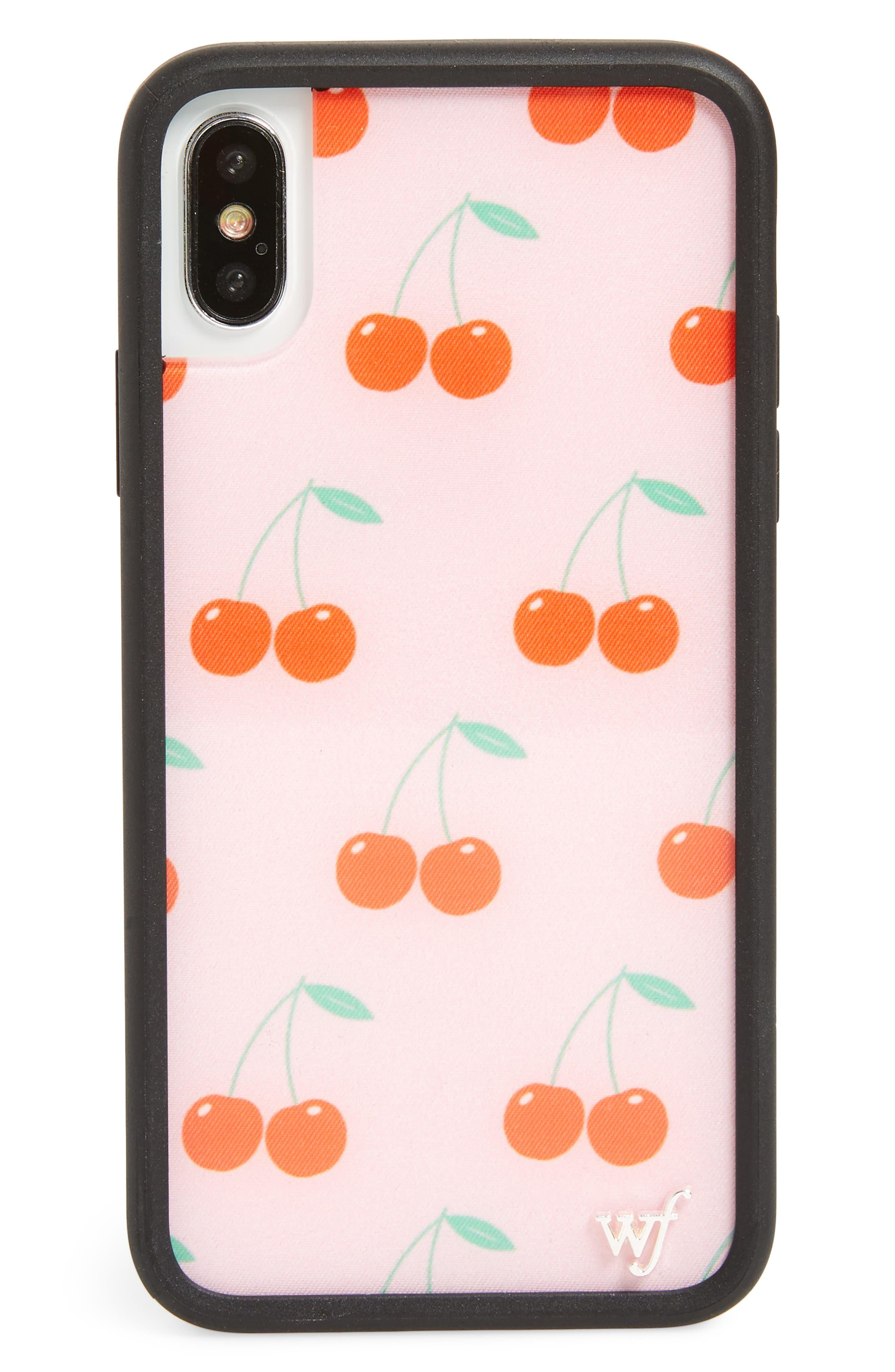 Wildflower Cherries iPhone X Phone Case