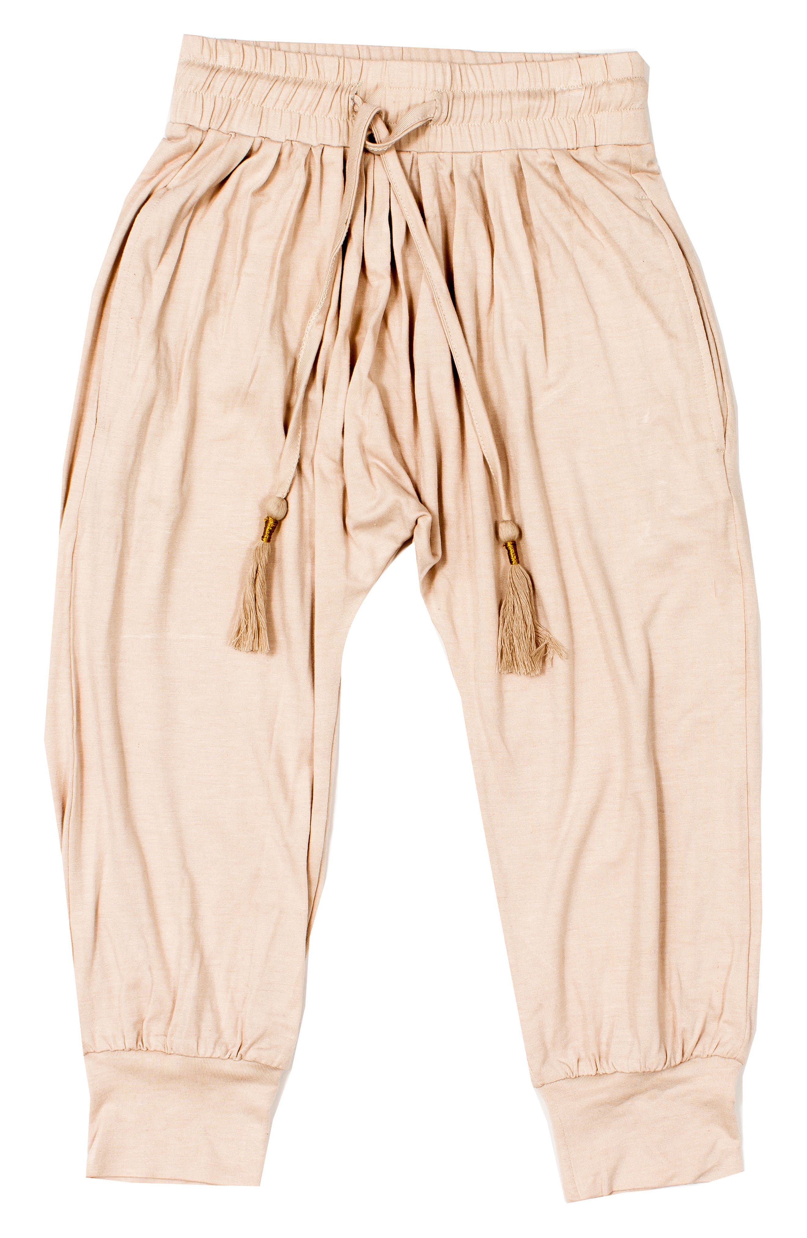 Gathered Pants,                         Main,                         color, Stardust