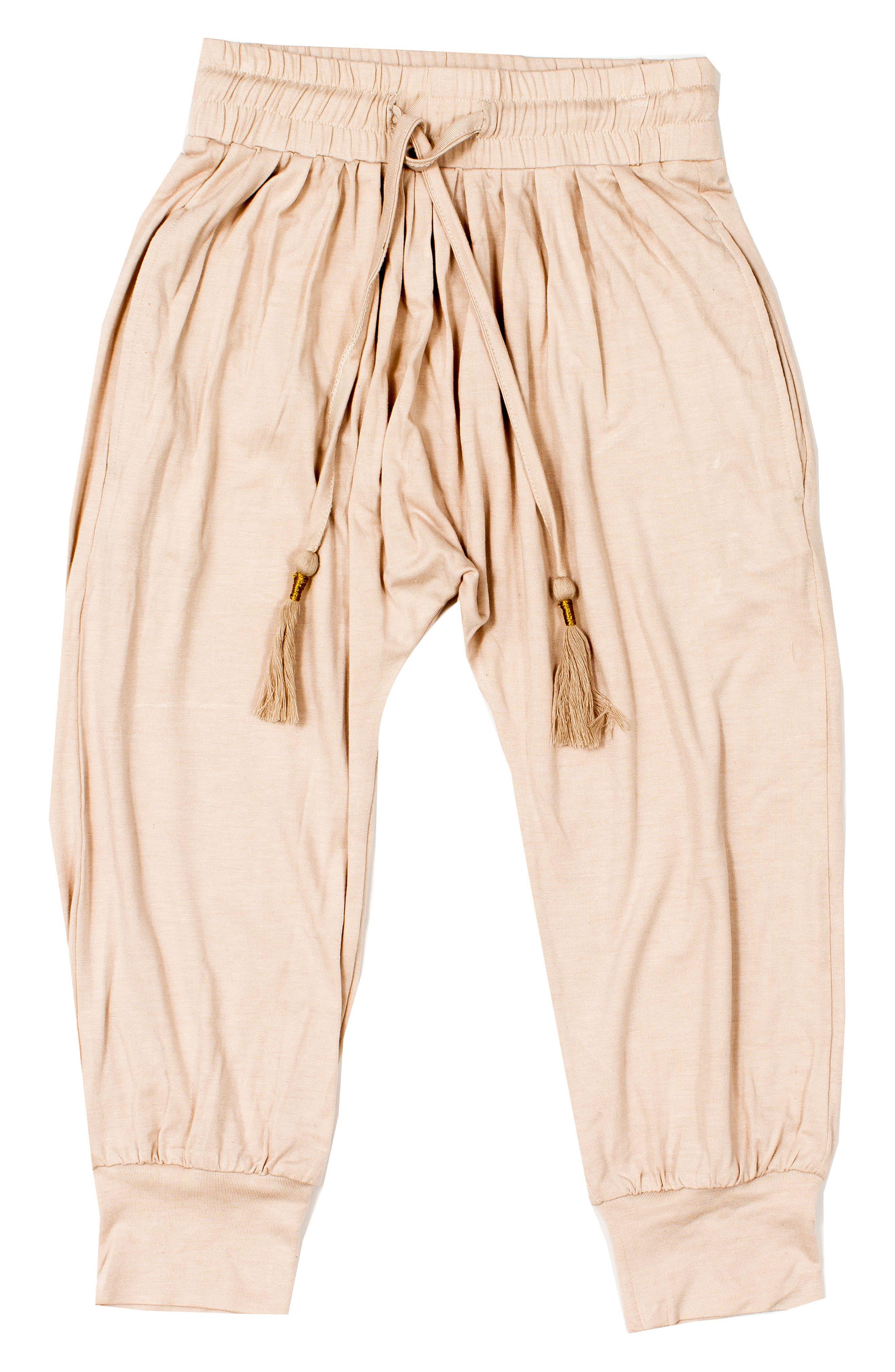BOWIE X JAMES Gathered Pants (Toddler Girls, Little Girls & Big Girls)