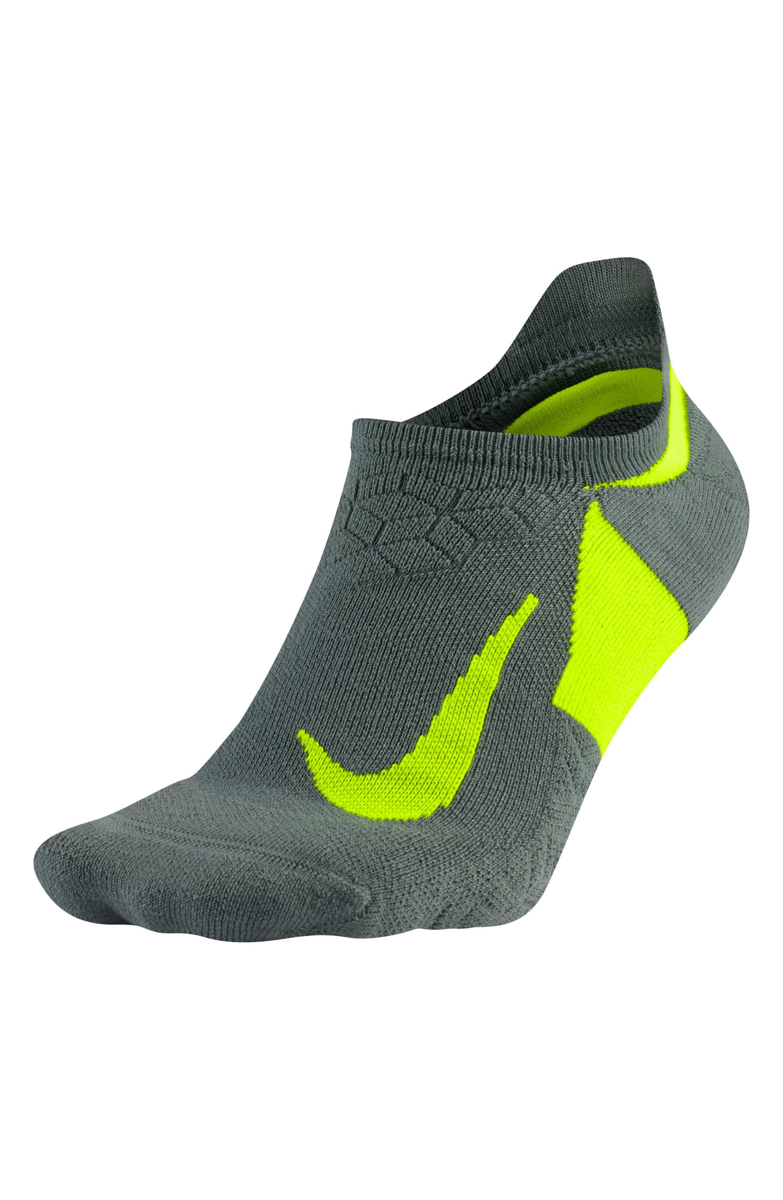 Main Image - Nike Elite Cushioned No-Show Tab Running Socks