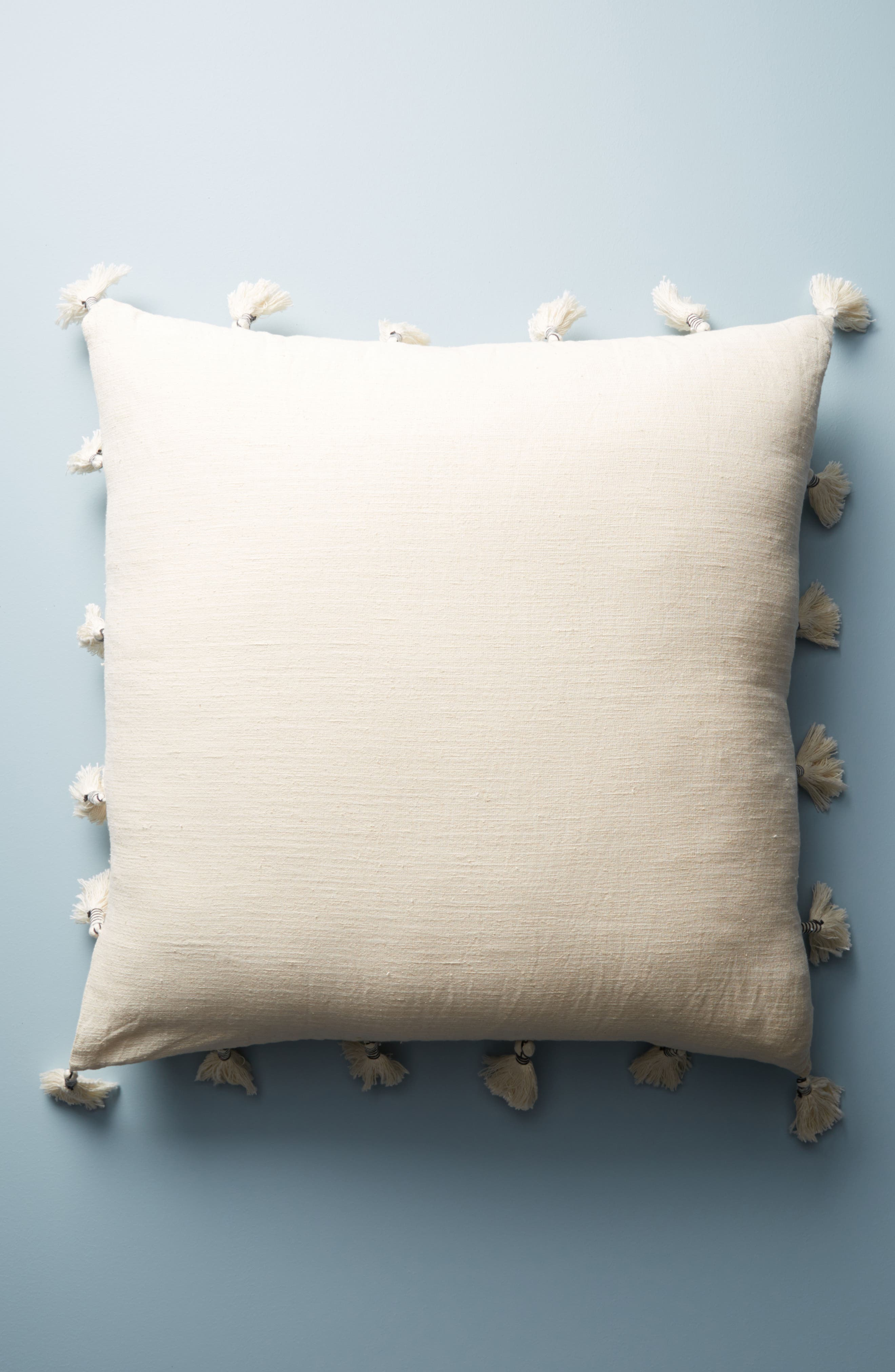 Tufted Amal Accent Pillow,                             Alternate thumbnail 2, color,                             Blue