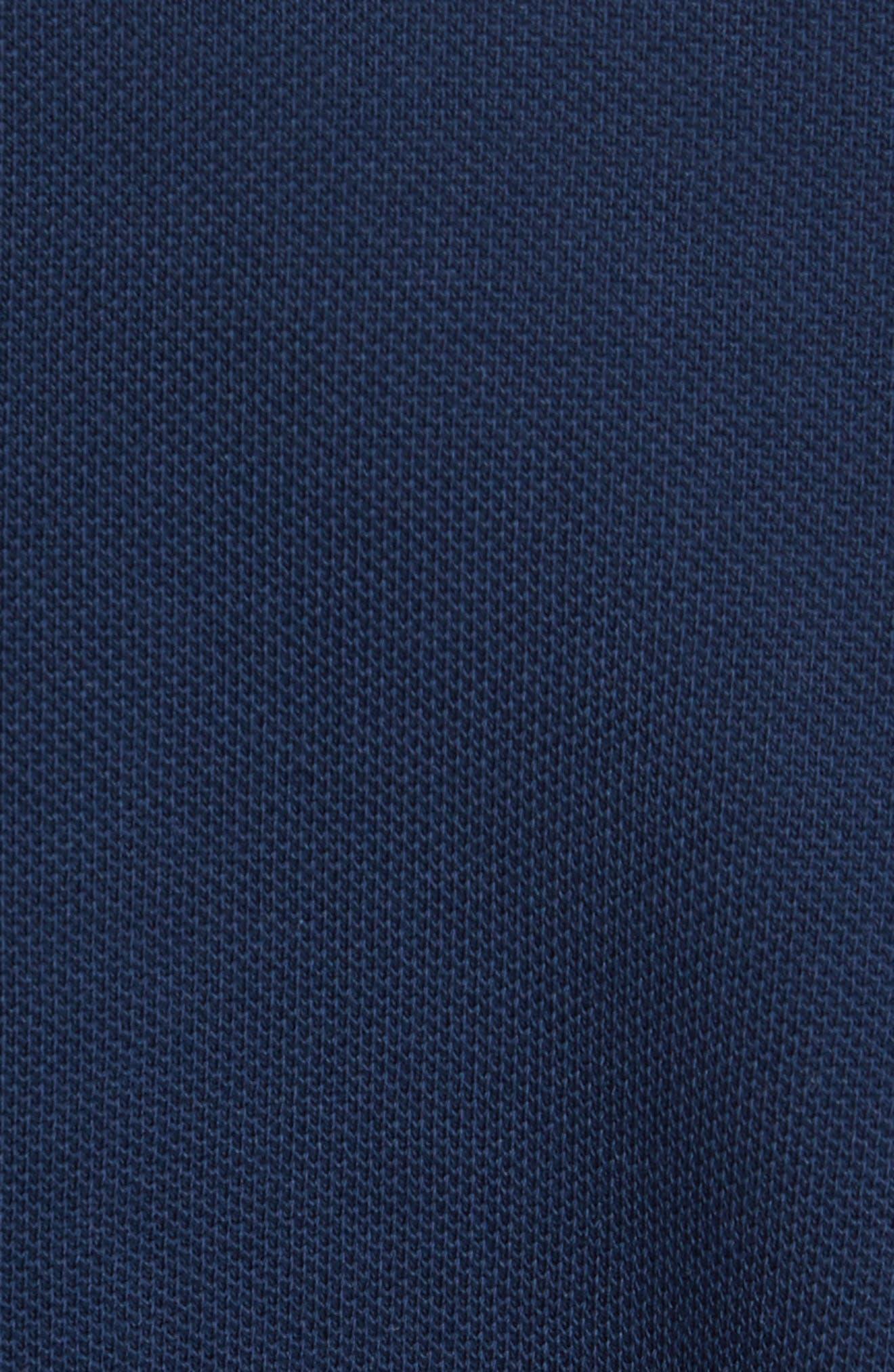 Alternate Image 5  - Moncler Flag Placket Piqué Polo
