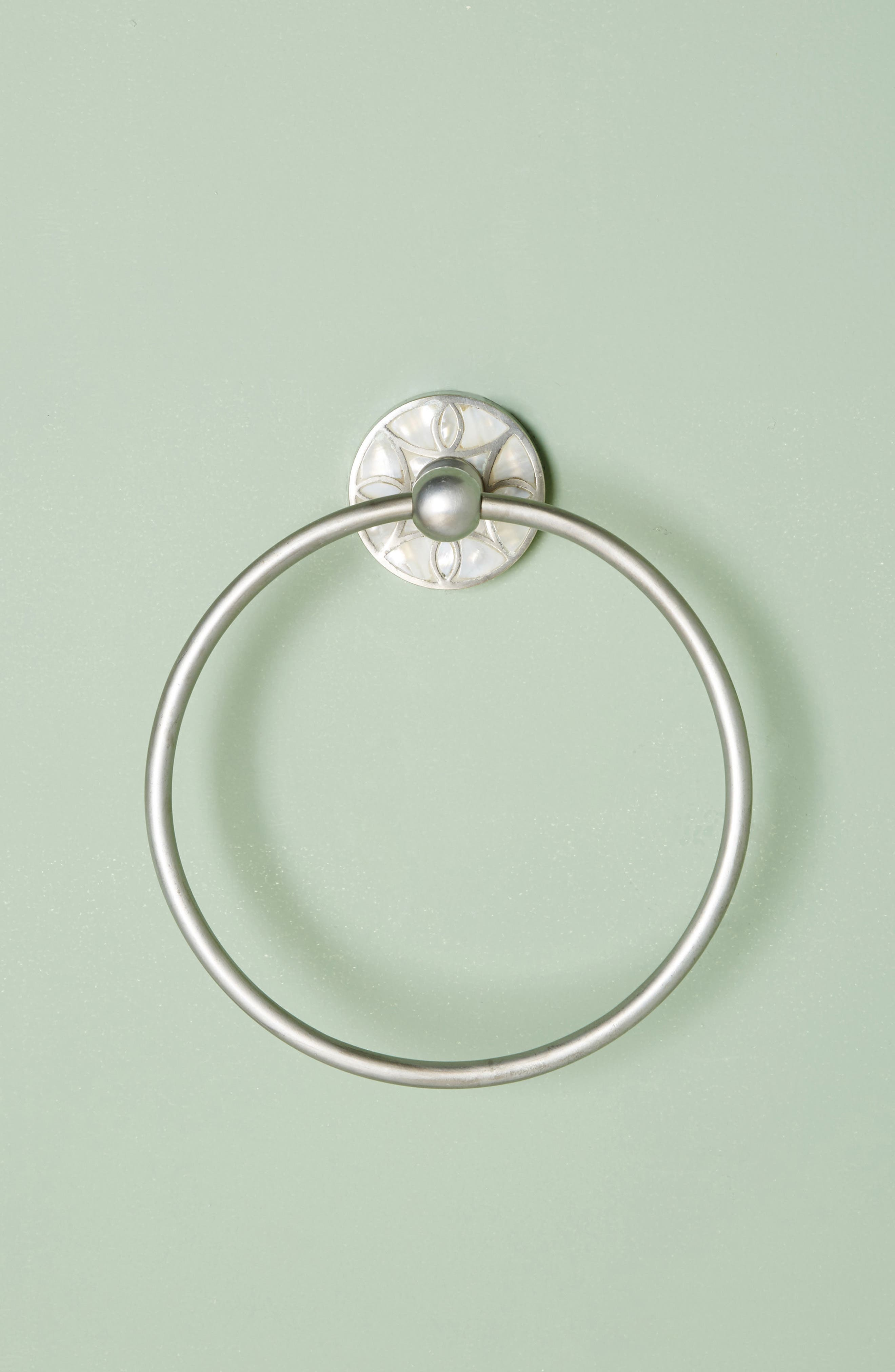 Launis Towel Ring,                             Main thumbnail 1, color,                             Grey
