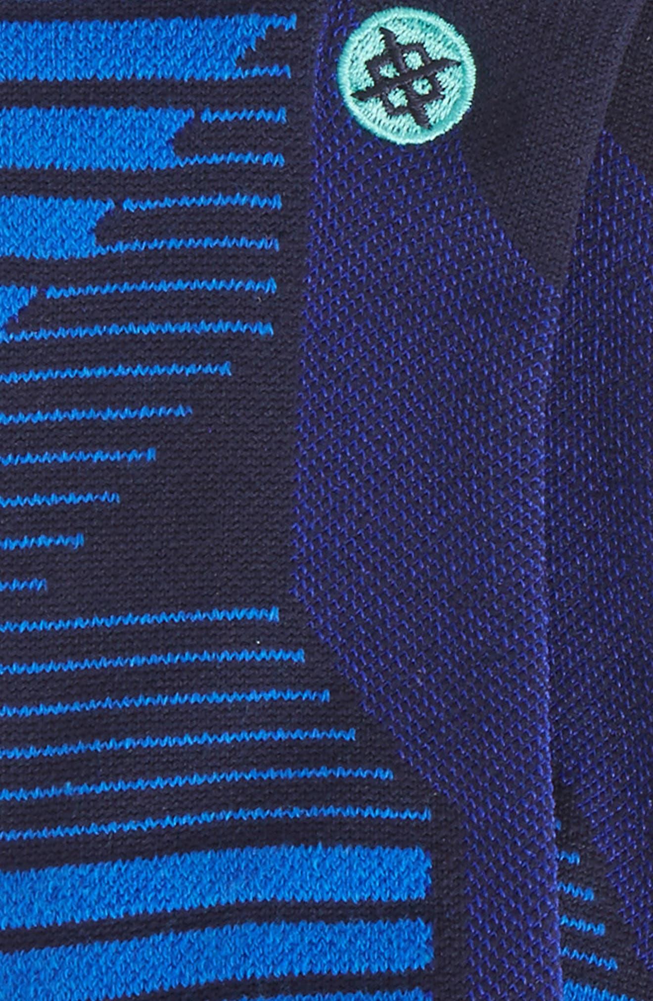 High Regard Tab Socks,                             Alternate thumbnail 2, color,                             Navy