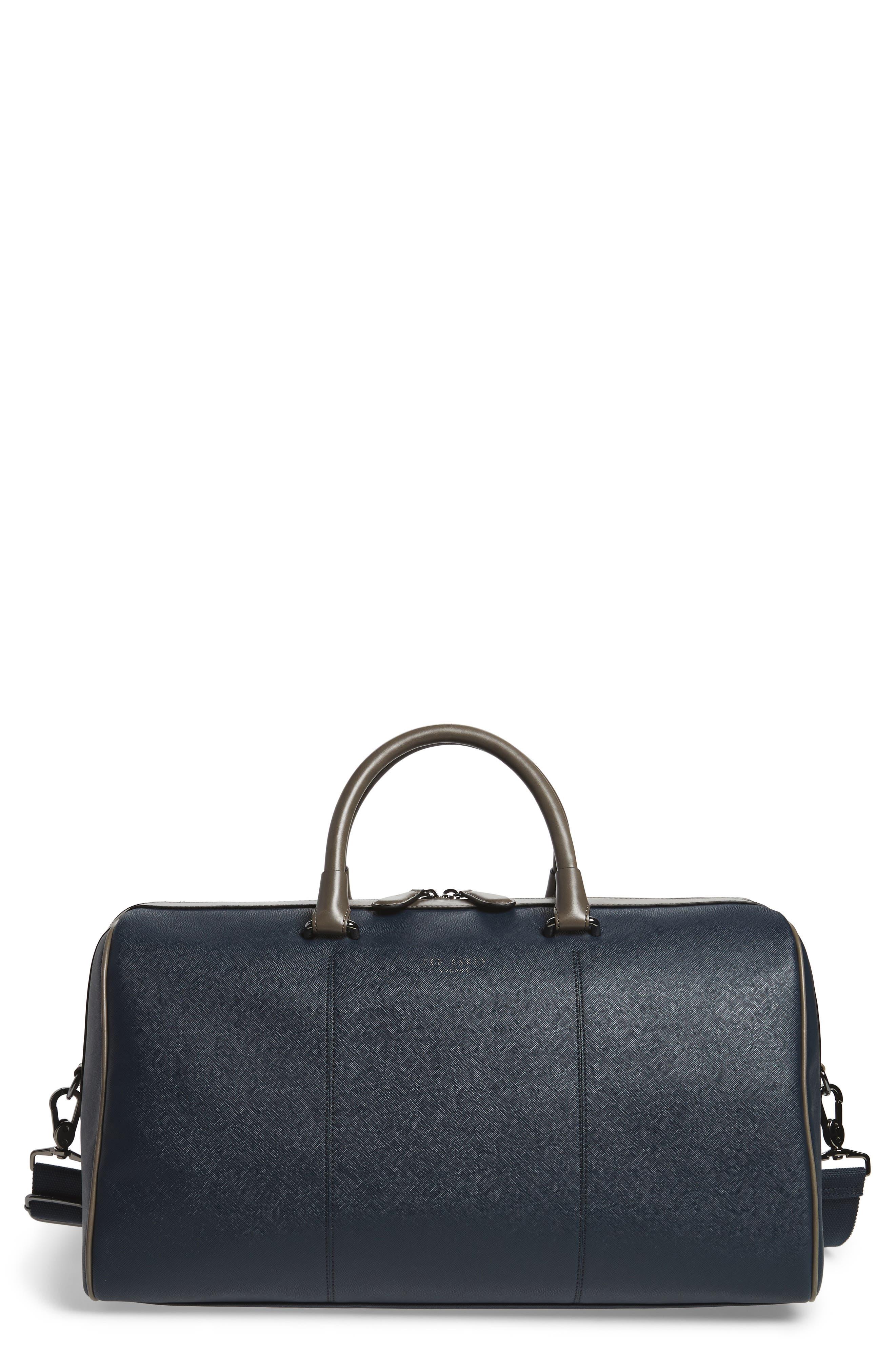 Haybail Crossgrain Holdall Duffel Bag,                         Main,                         color, Navy