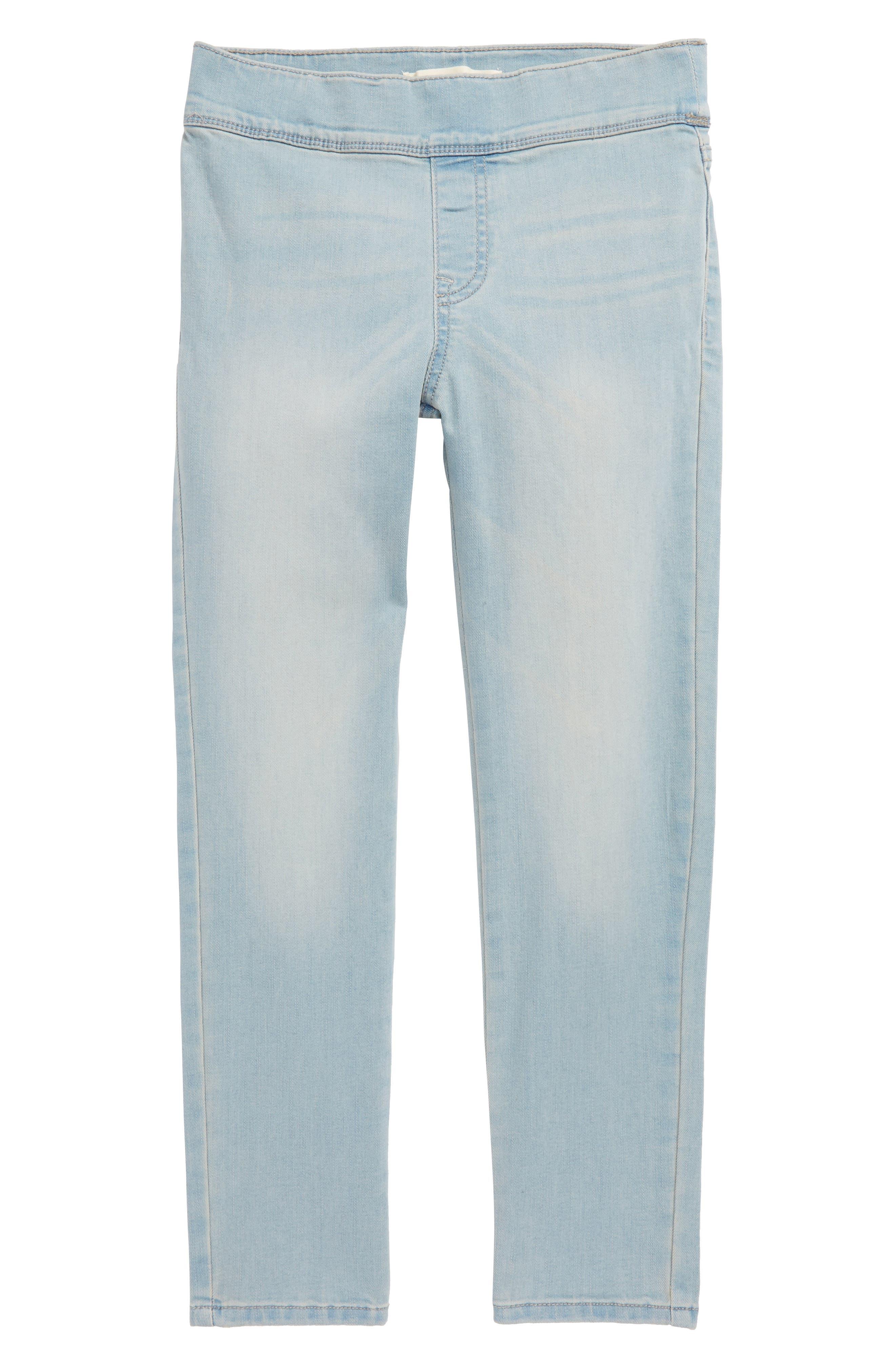 Crop Jeans,                         Main,                         color, Spring Wash