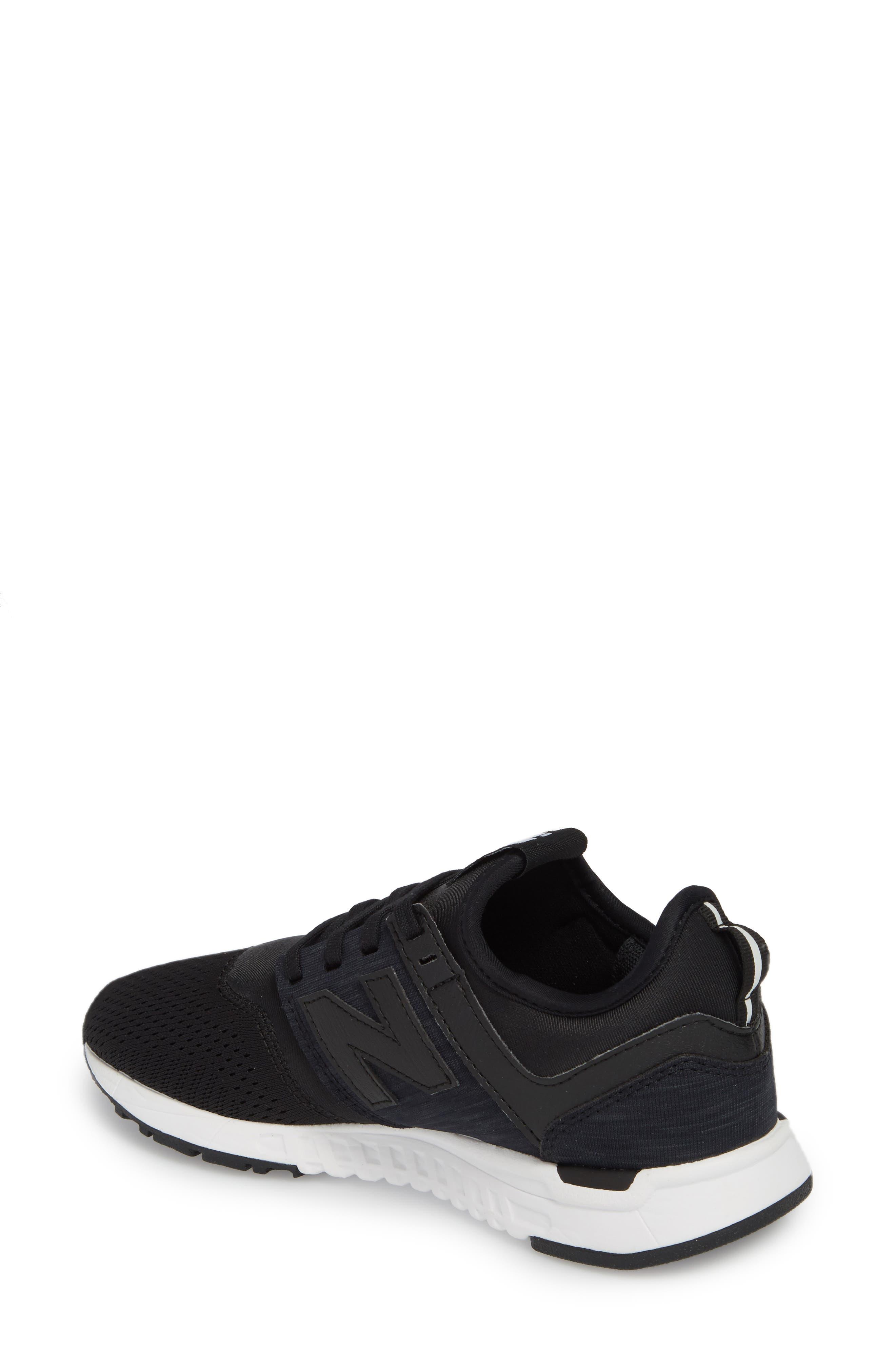 247 Classic Sneaker,                             Alternate thumbnail 2, color,                             Black