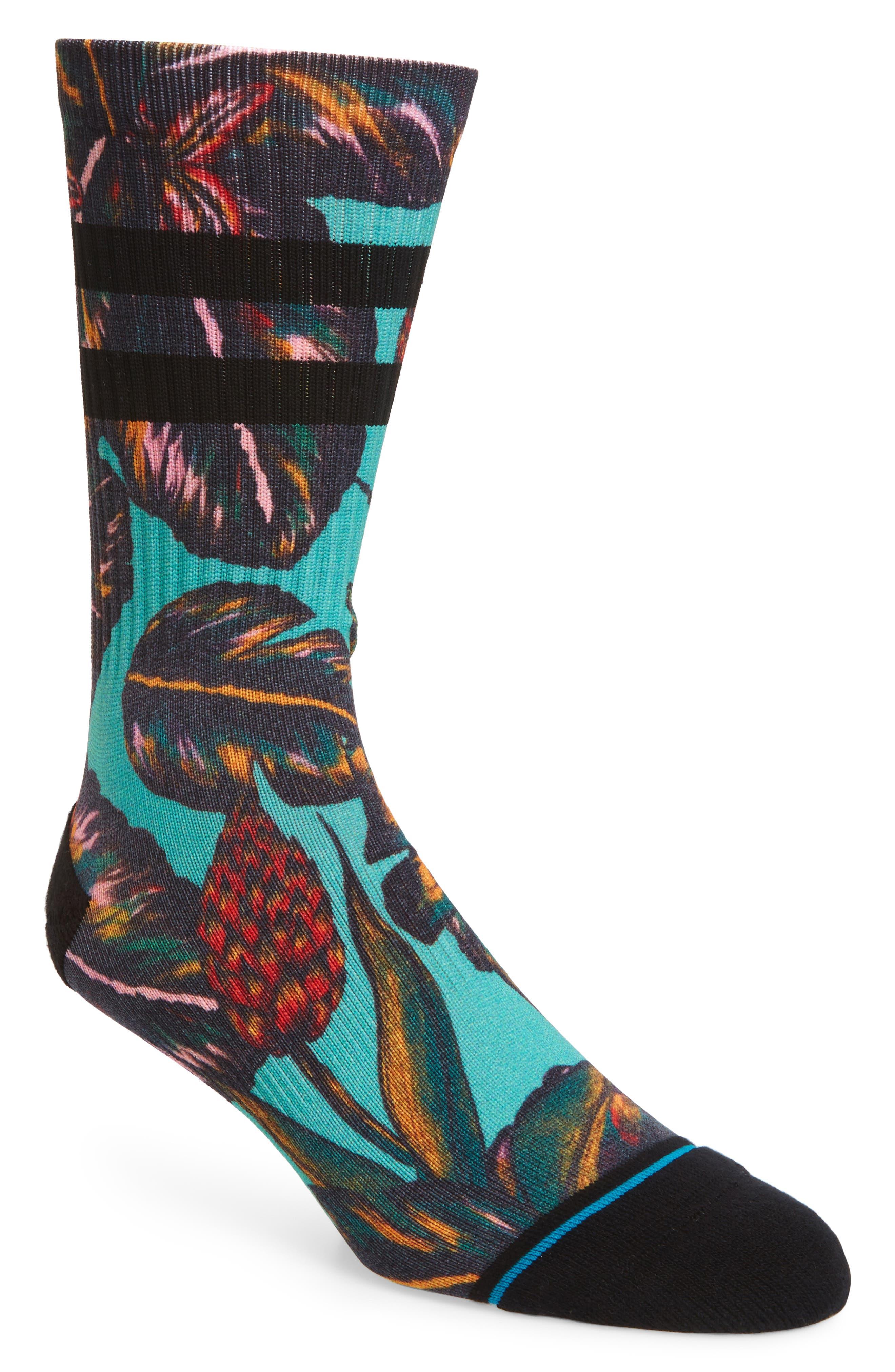 Sleeping Giant Socks,                         Main,                         color, Blue Multi