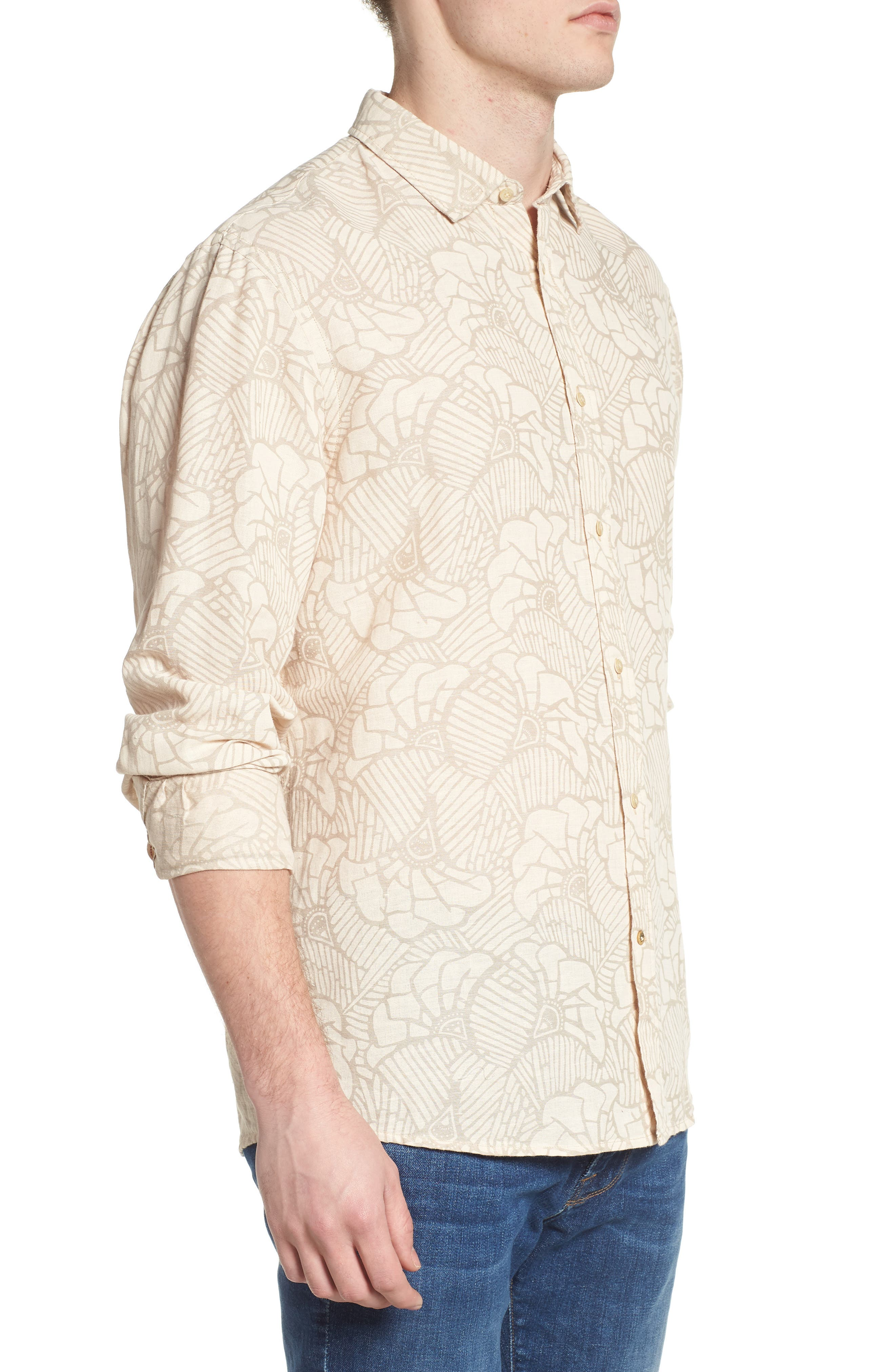 Relaxed Fit Sport Shirt,                             Alternate thumbnail 4, color,                             Combo B