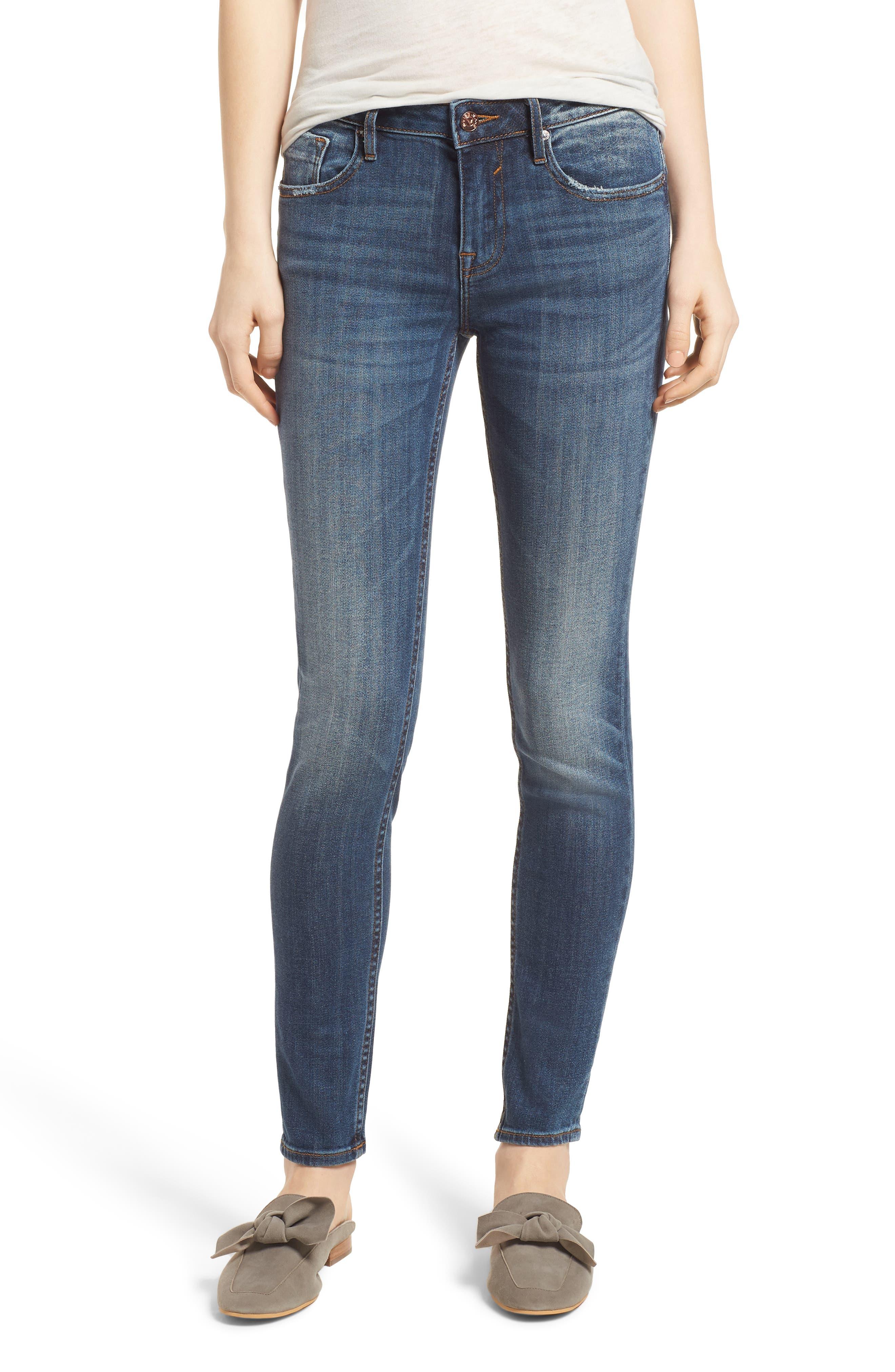 Jagger Skinny Jeans,                             Main thumbnail 1, color,                             Medium Wash