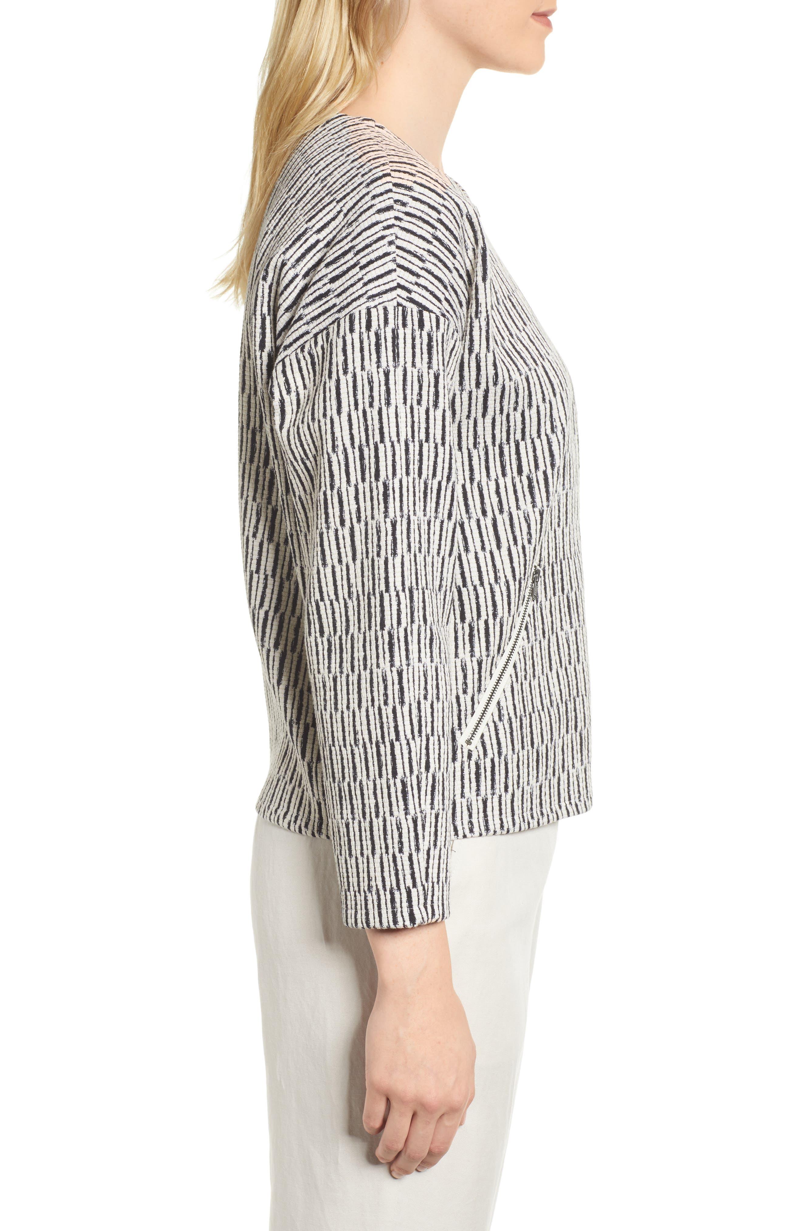 Alternate Image 3  - Eileen Fisher Tweed Jacket