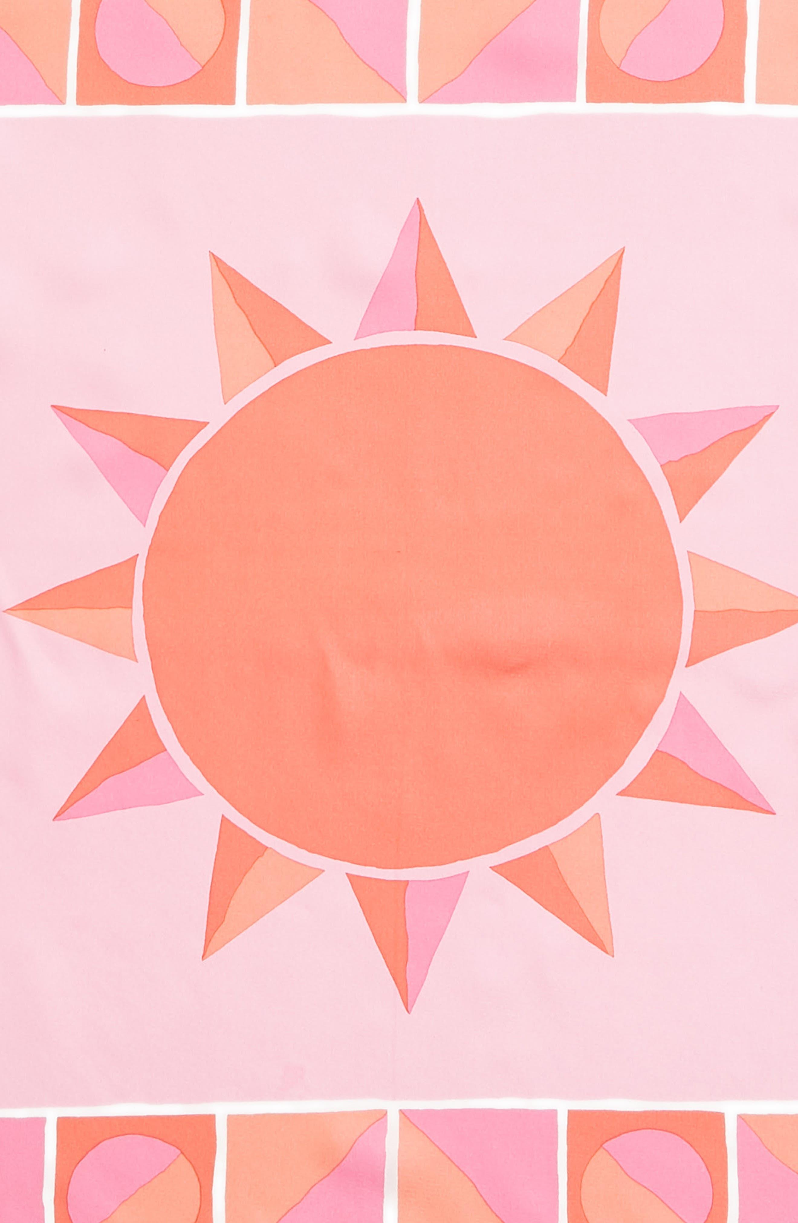 sun silk bandana,                             Alternate thumbnail 4, color,                             Surf Pink