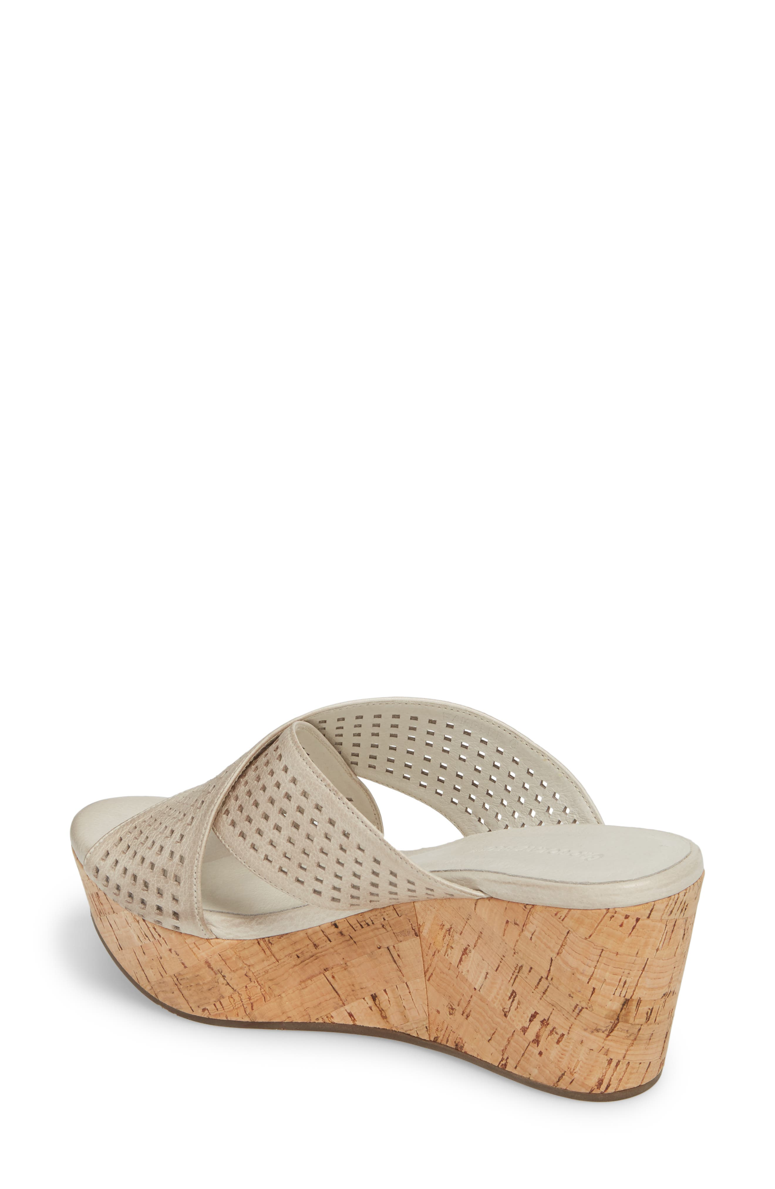 Wamblee Wedge Sandal,                             Alternate thumbnail 2, color,                             Ice Leather